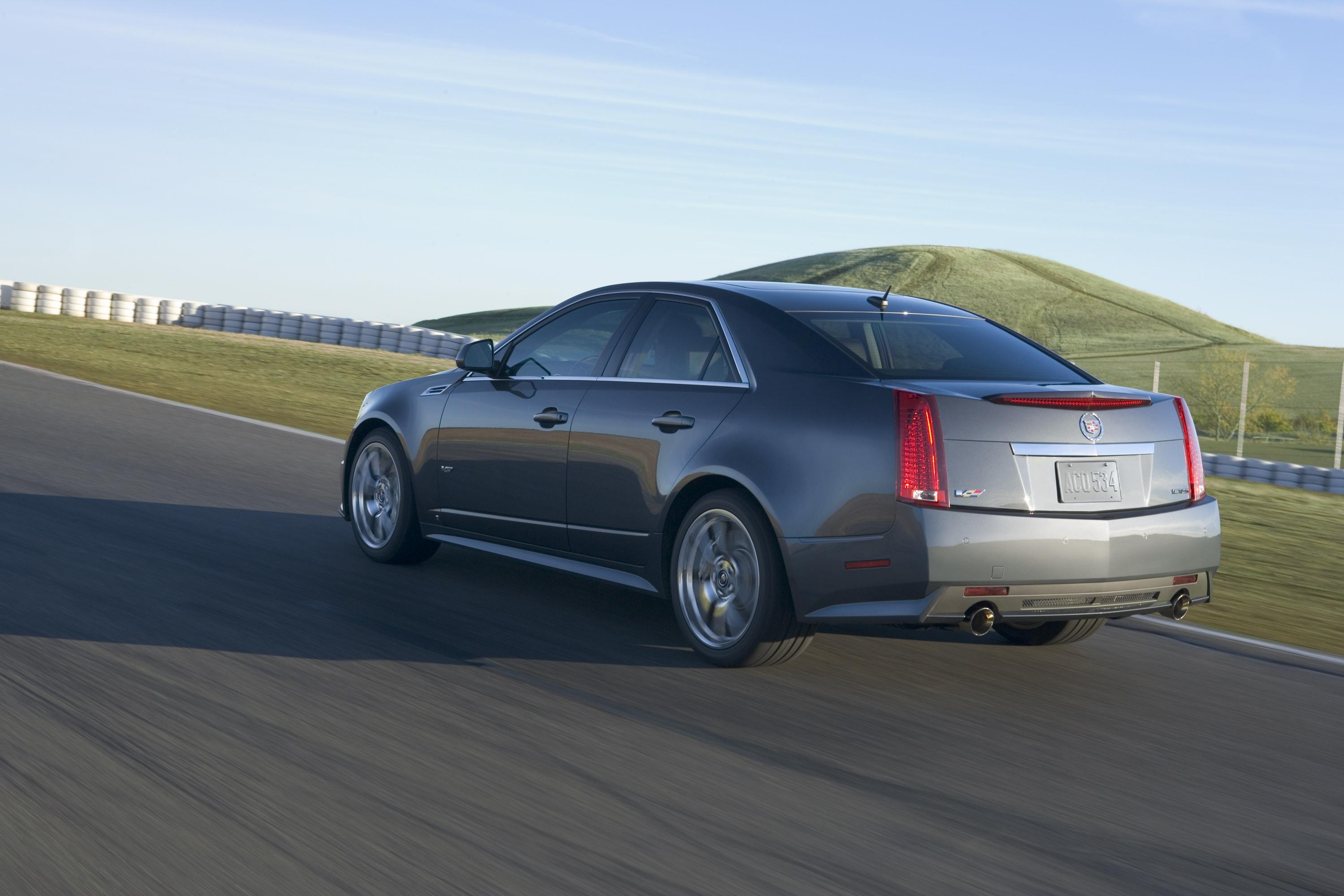 2009 Cadillac Cts V Top Speed