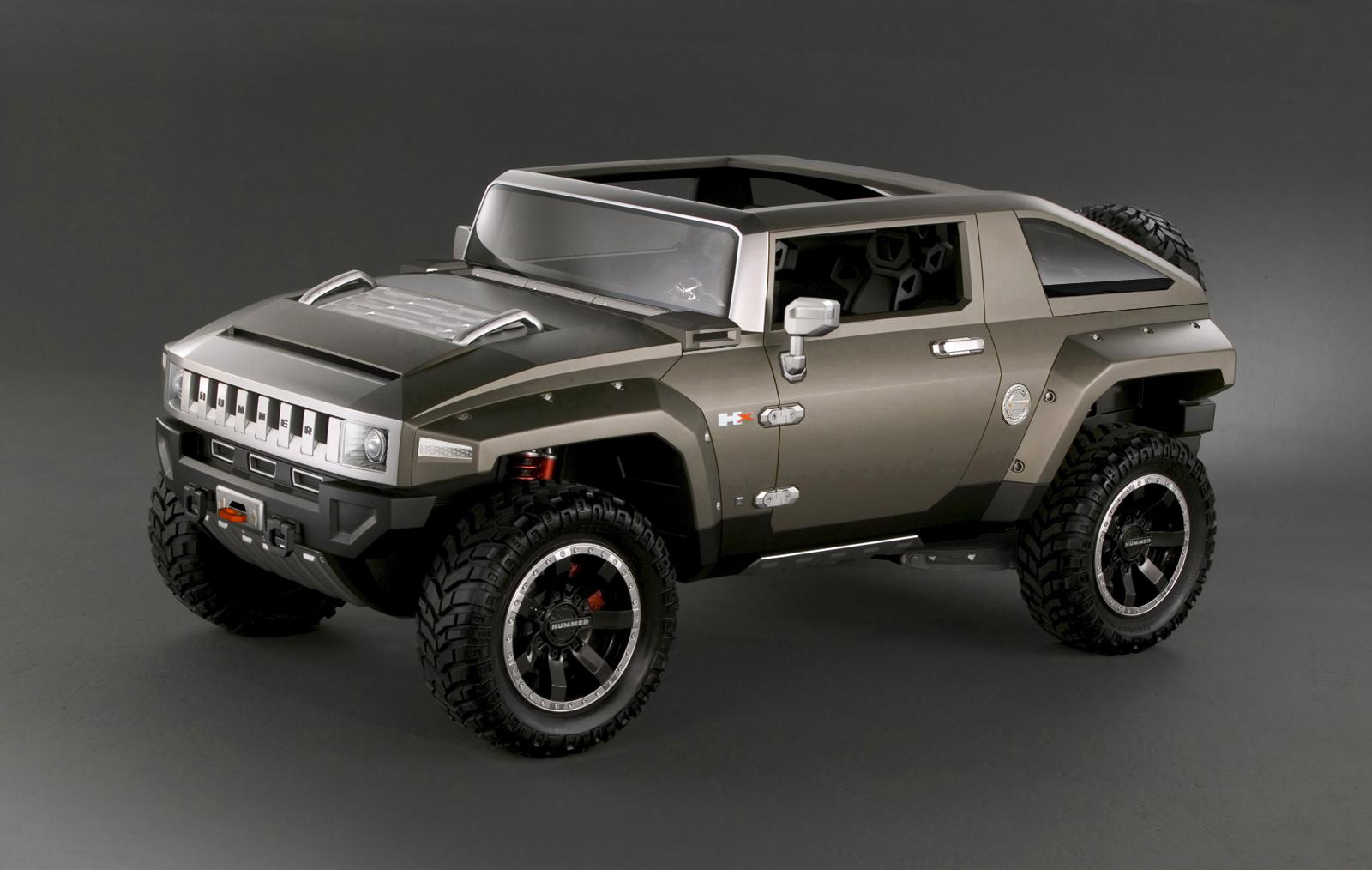 Hummer Hx Preview Of The Next H4 Top Speed