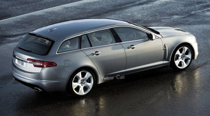 Marvelous Jaguar XF Station Wagon Renderings   Image 224081