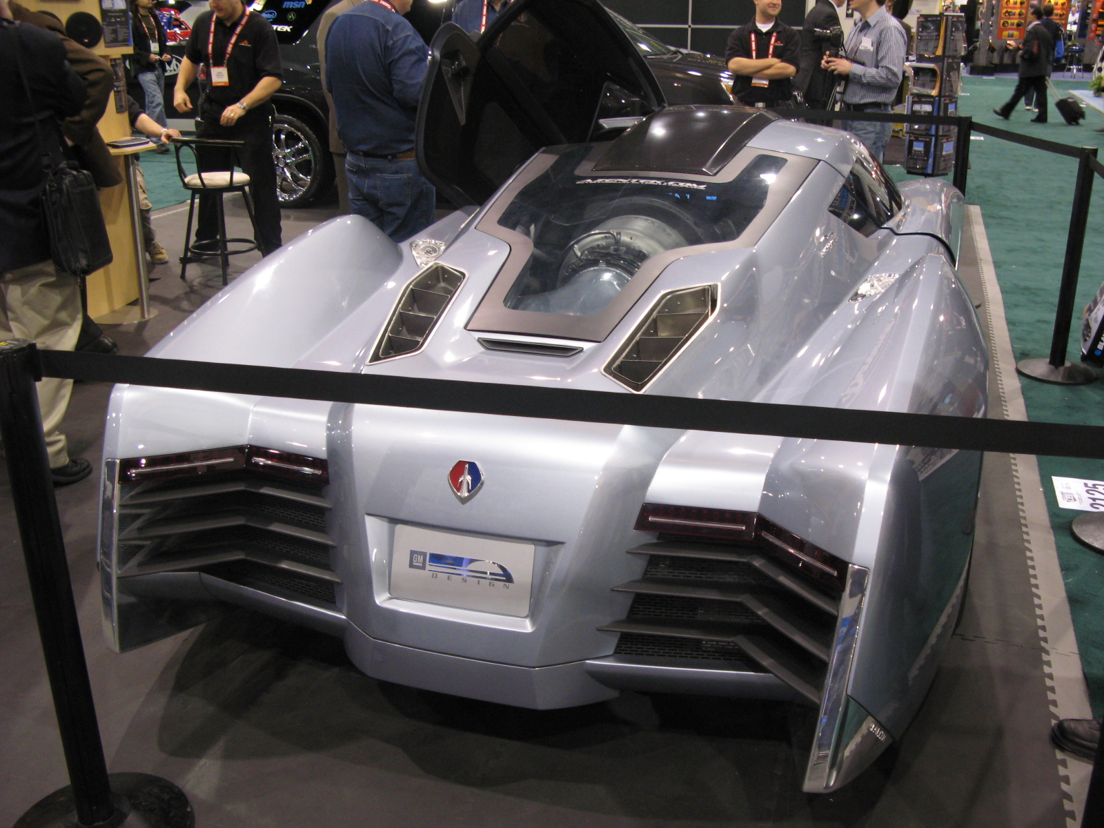 Jay Leno Ecojet Car At CES 2008   Top Speed