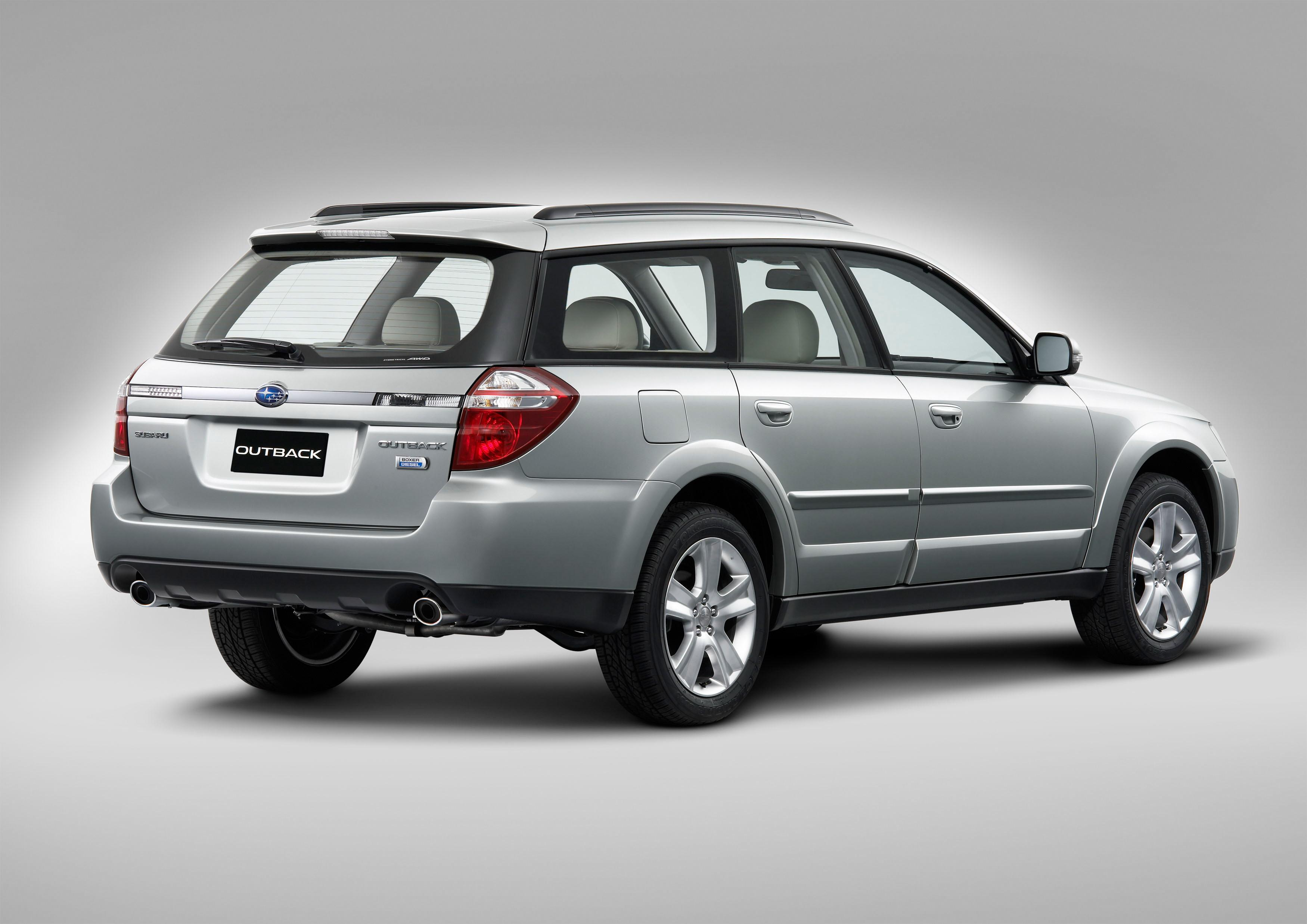 Subaru Legacy Outback >> 2008 Subaru Legacy 2 0d And Outback 2 0d Top Speed