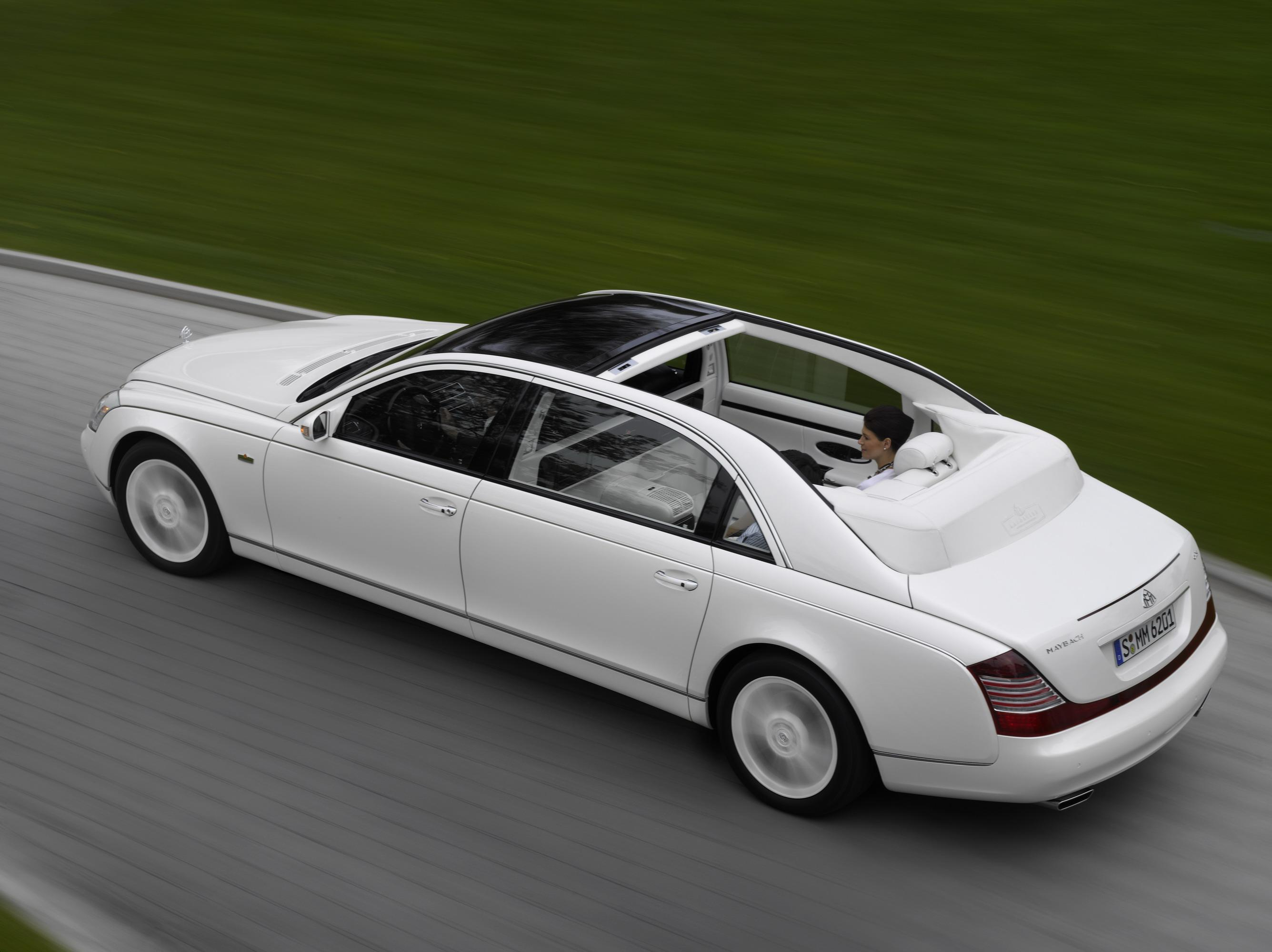 Maybach Landaulet Reviews Specs Prices Photos And Videos Top Speed