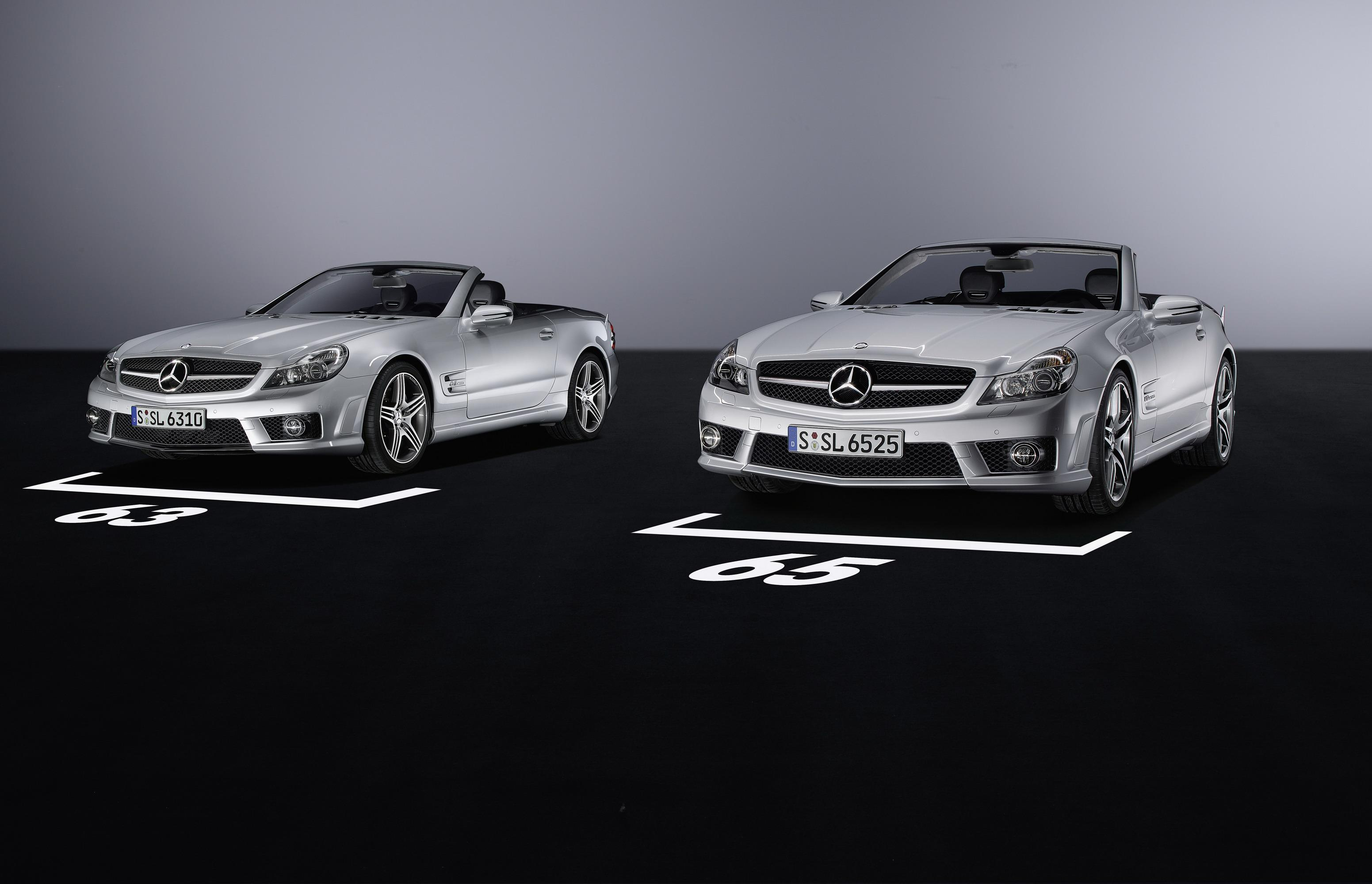 2009 Mercedes SL63 And SL65 AMG Review - Top Speed. »