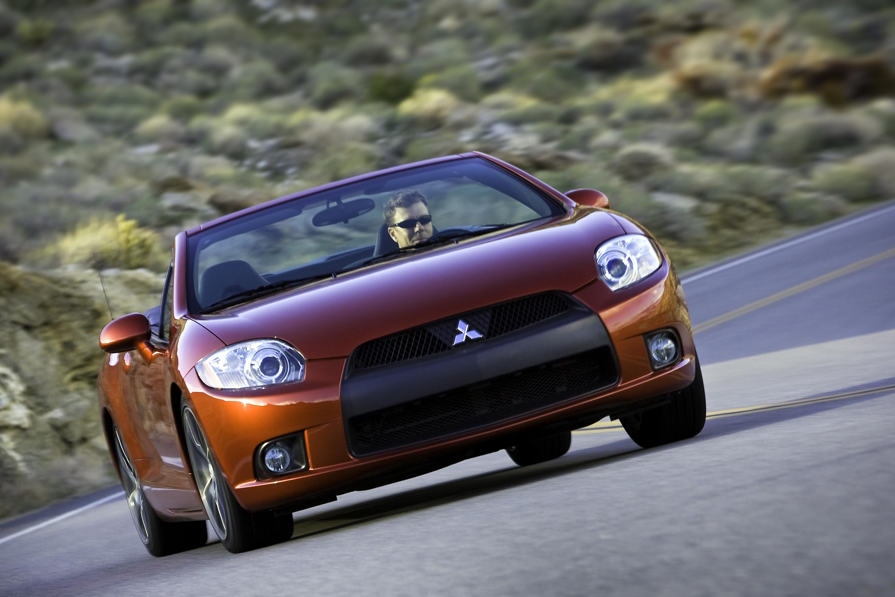 2009 Mitsubishi Eclipse Spyder Top Speed