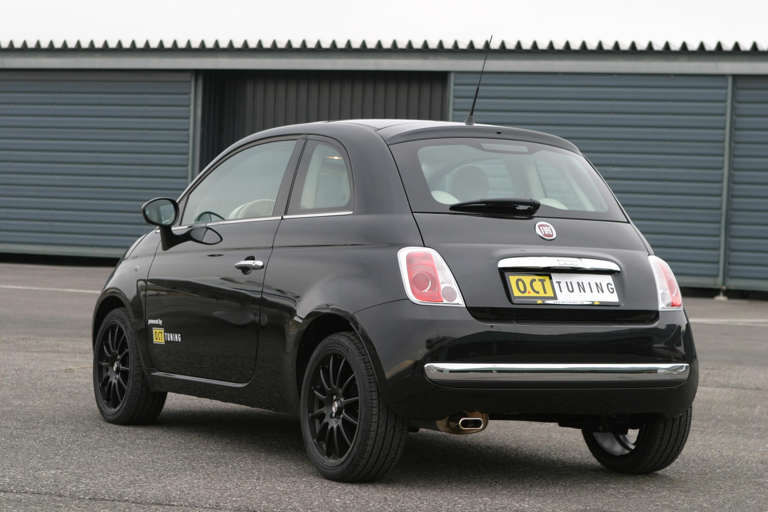 20 more power for fiat 500 from oct tuning gallery 240747. Black Bedroom Furniture Sets. Home Design Ideas