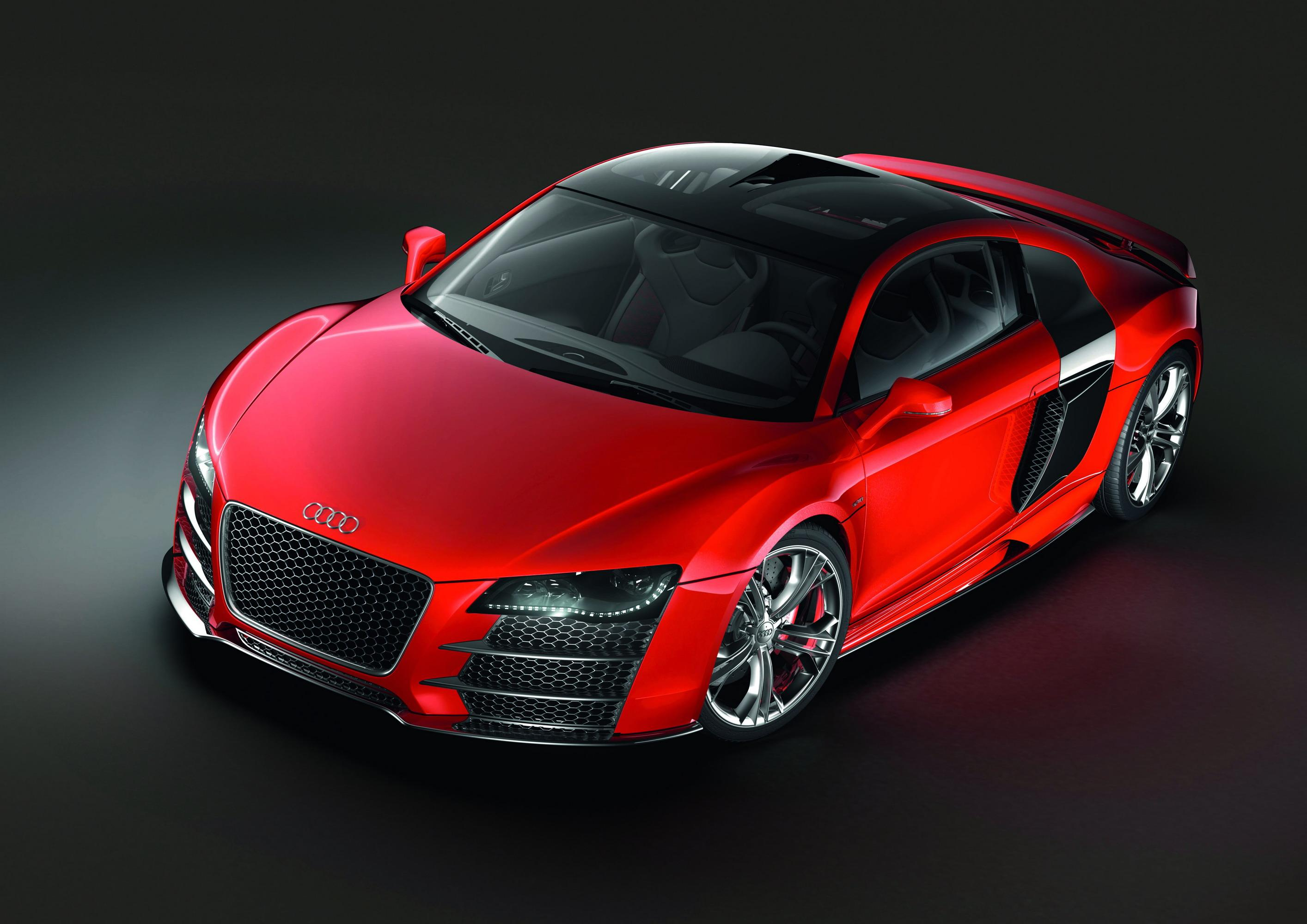 2008 Audi R8 TDI Le Mans Review - Top Speed
