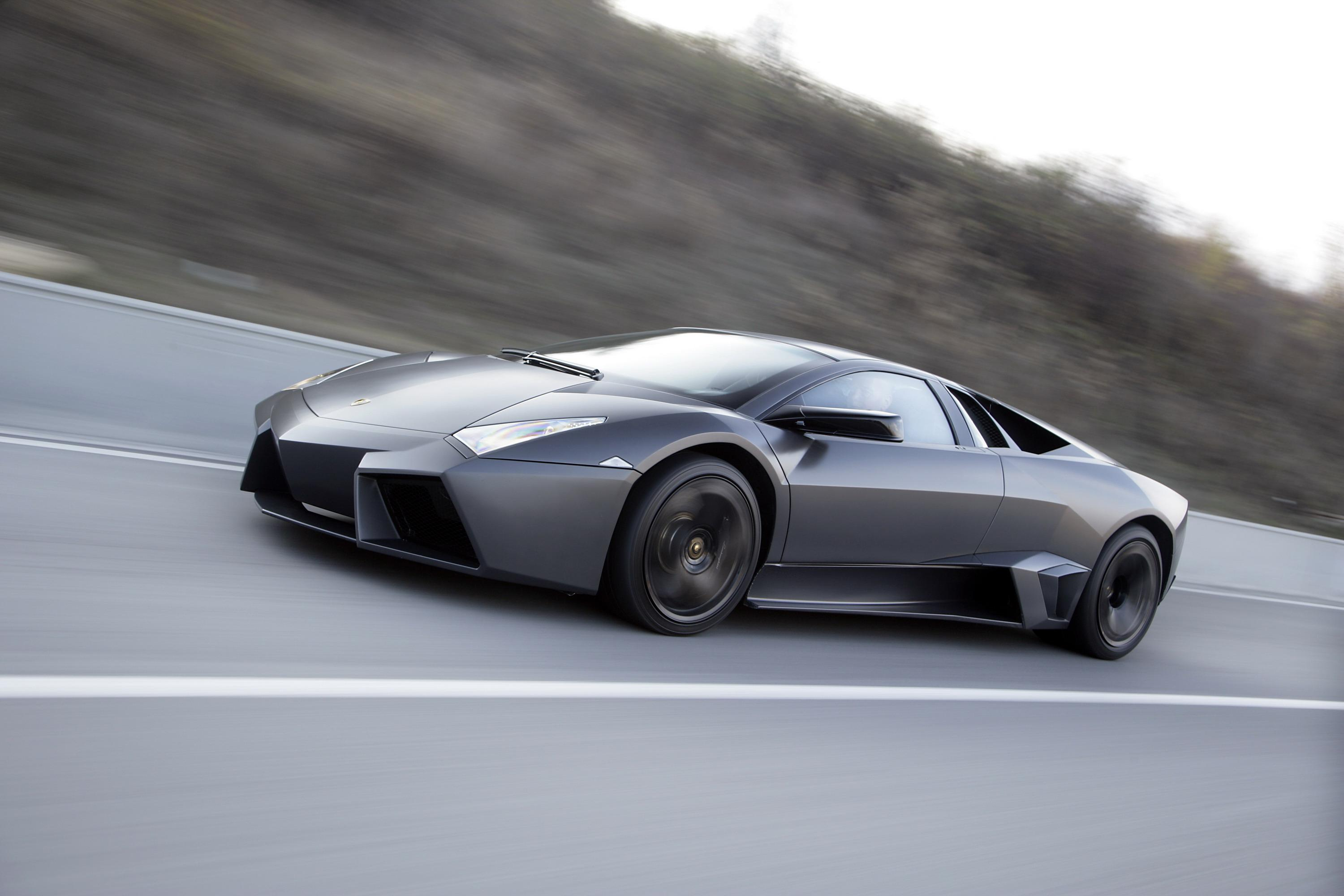 Lamborghini reventon top speed