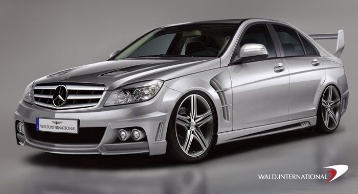 Mercedes Benz C-Class W204 By Wald International Coming Soon