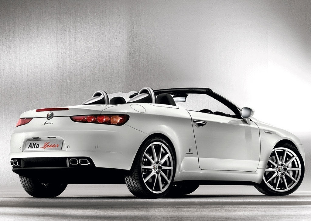 2008 Alfa Romeo Spider Limited Edition Top Speed