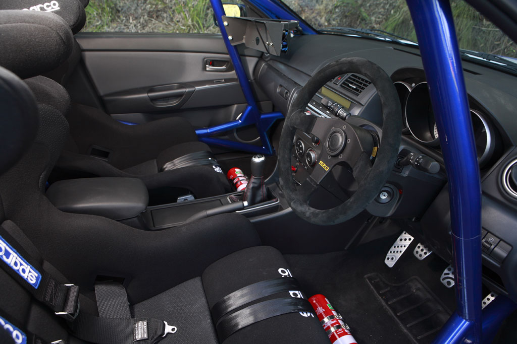 2008 Mazda3 MPS Rally Car Review  Top Speed