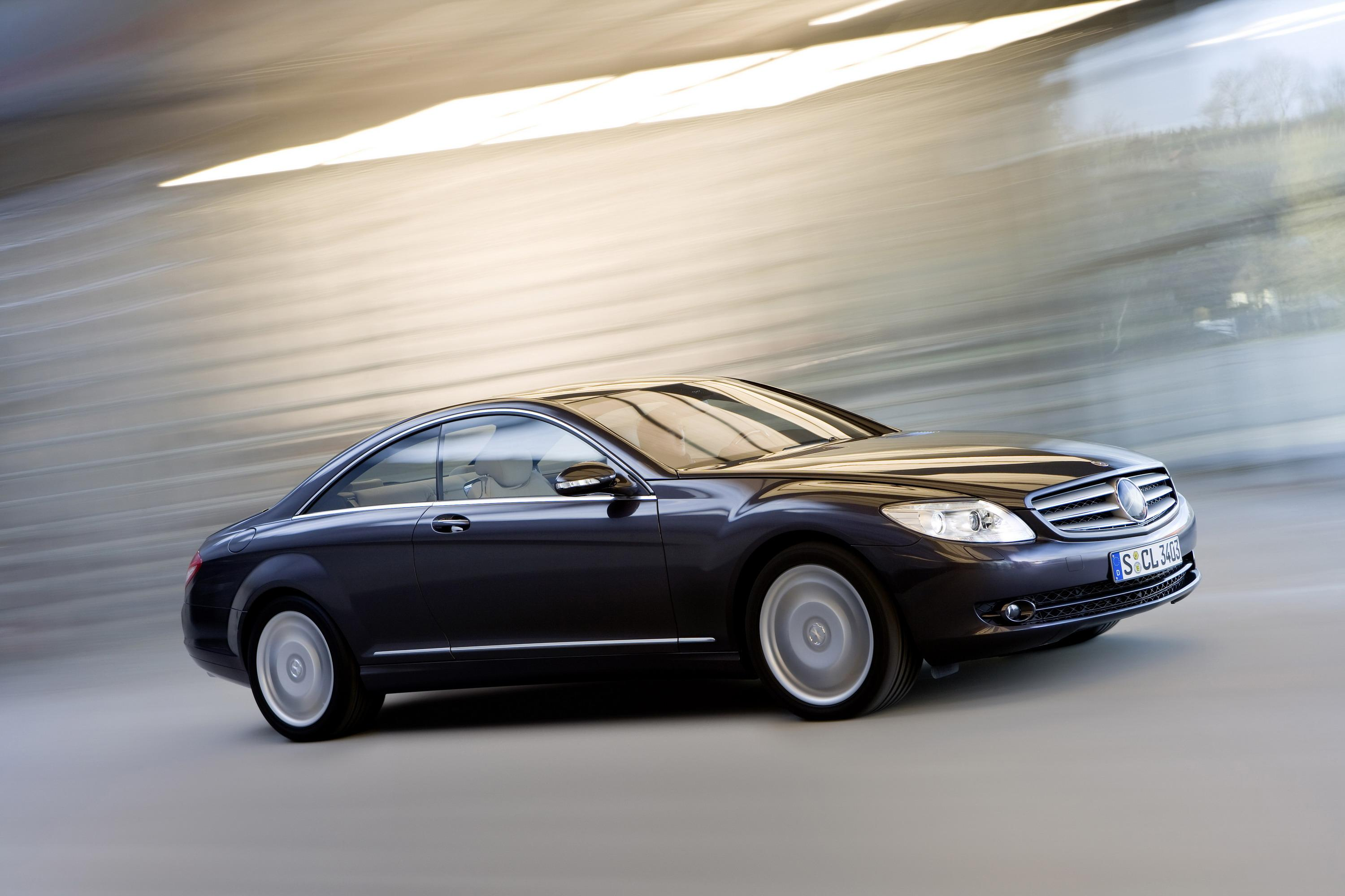 Elegant 2008 Mercedes CL500 4MATIC Review   Top Speed. »