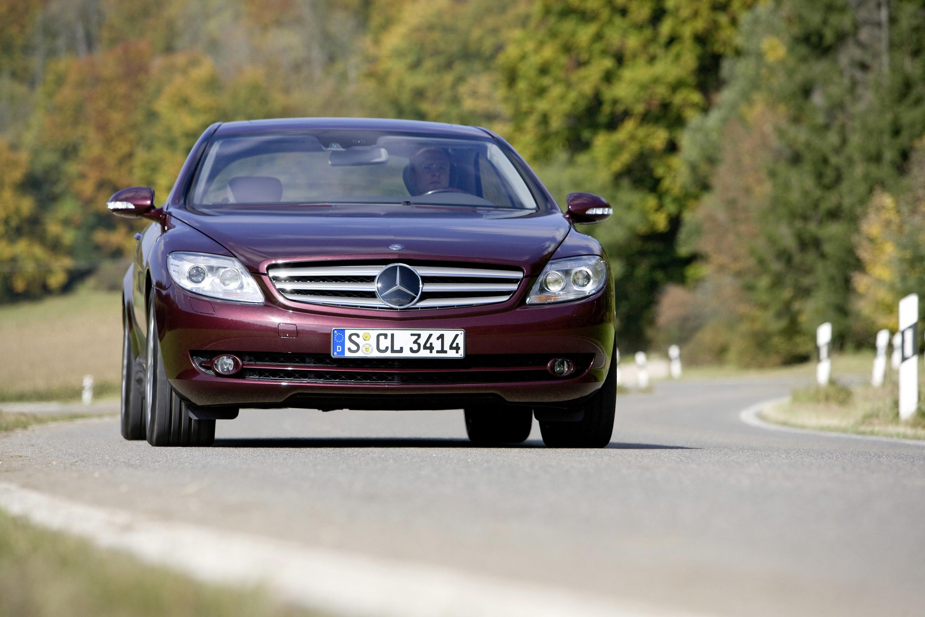 Superbe 2008 Mercedes CL500 4MATIC Review   Top Speed. »