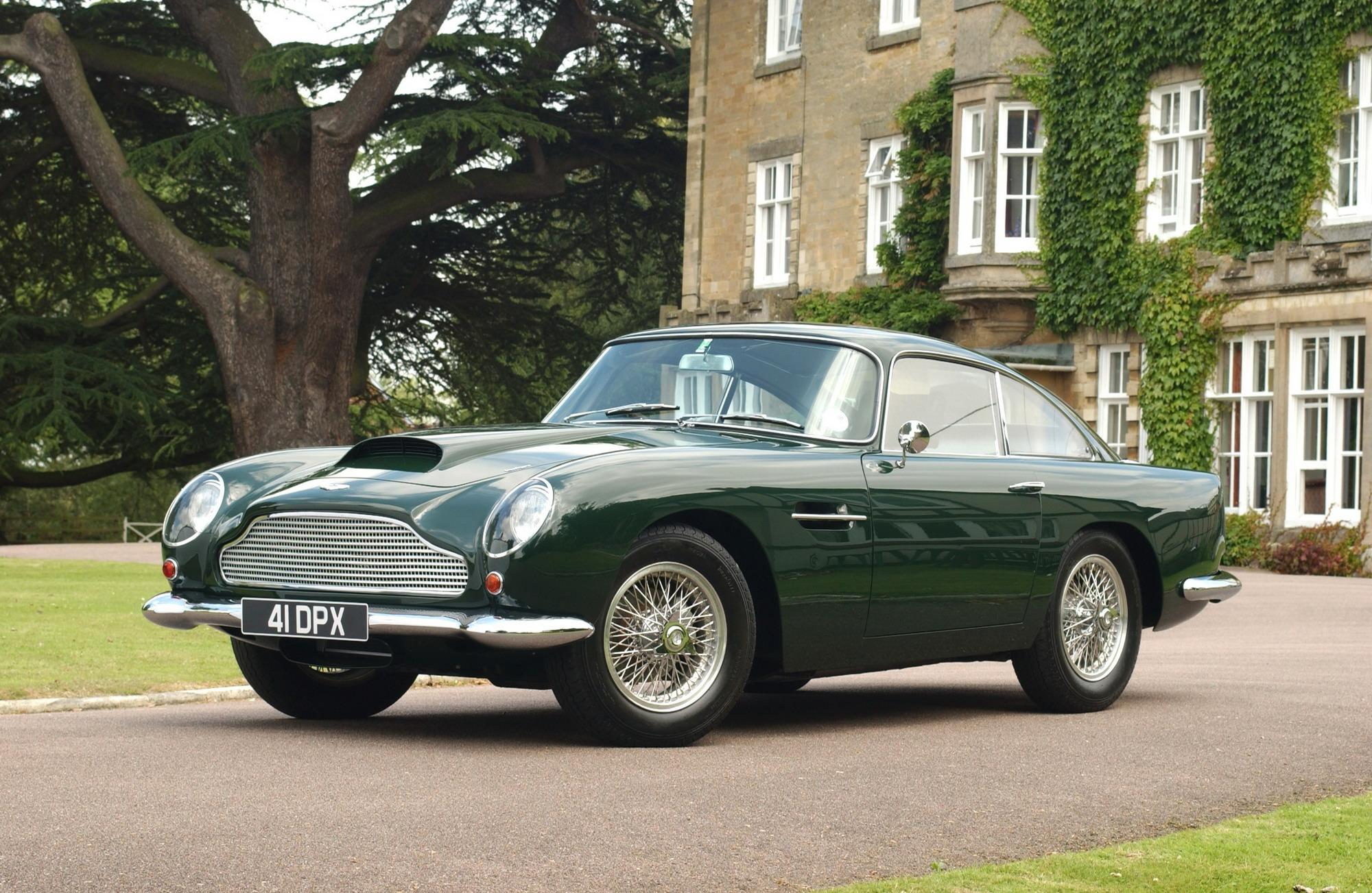 1961 Aston Martin Db4 Gt Coupe For Action Top Speed