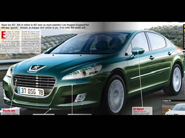 Genesis Car Company >> 2011 Peugeot 408 Might Look Like This | Top Speed