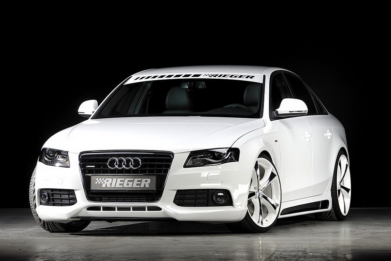 Audi A4 30 Tdi By Rieger Tuning Top Speed