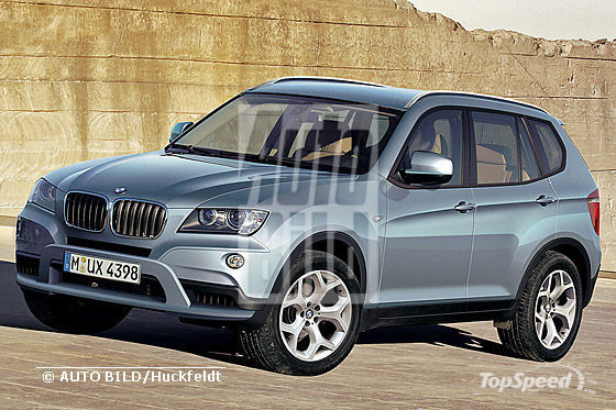 2011 BMW X3 renderings wallpaper image