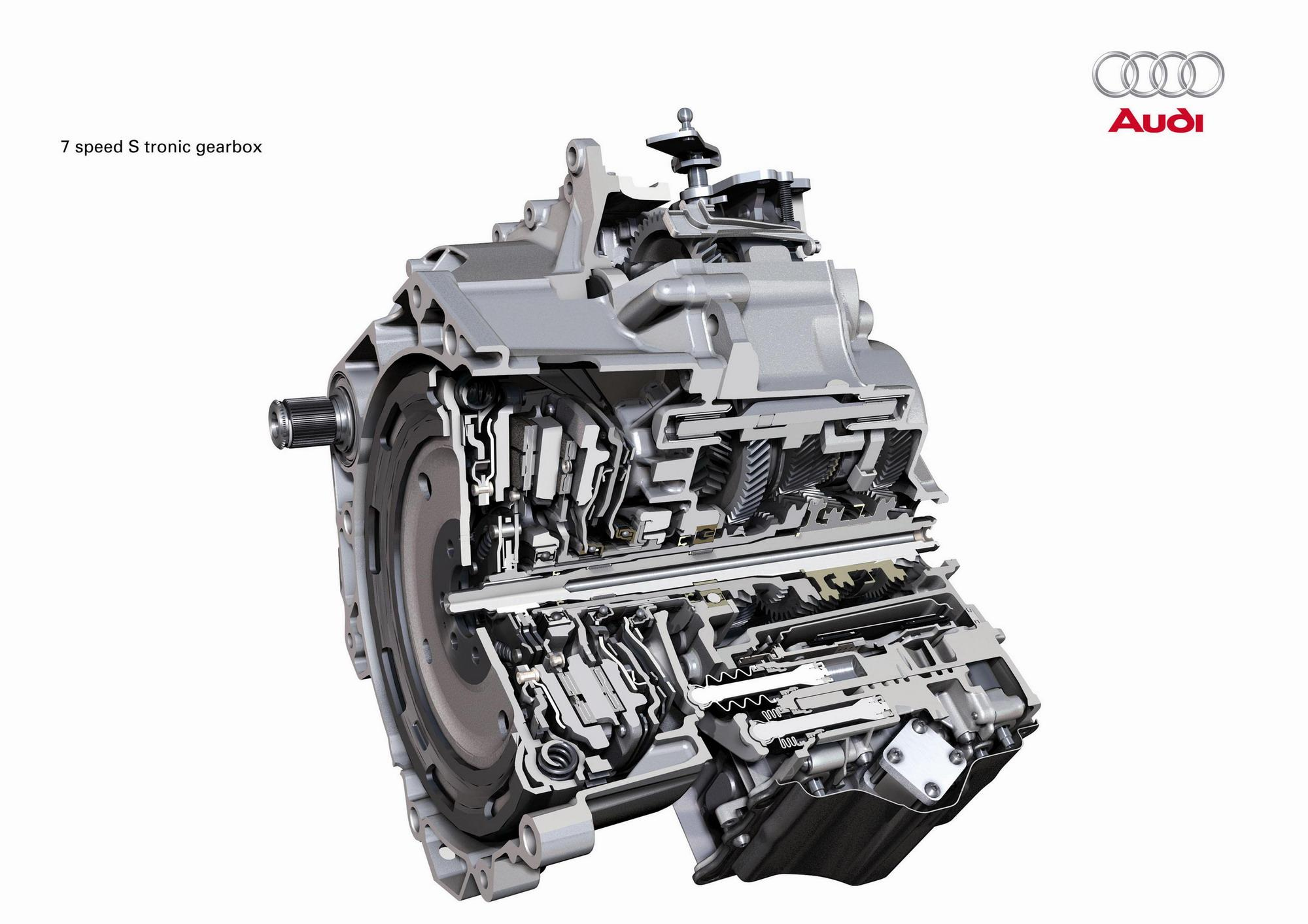 audi 39 s 7 speed s tronic gearbox news top speed. Black Bedroom Furniture Sets. Home Design Ideas
