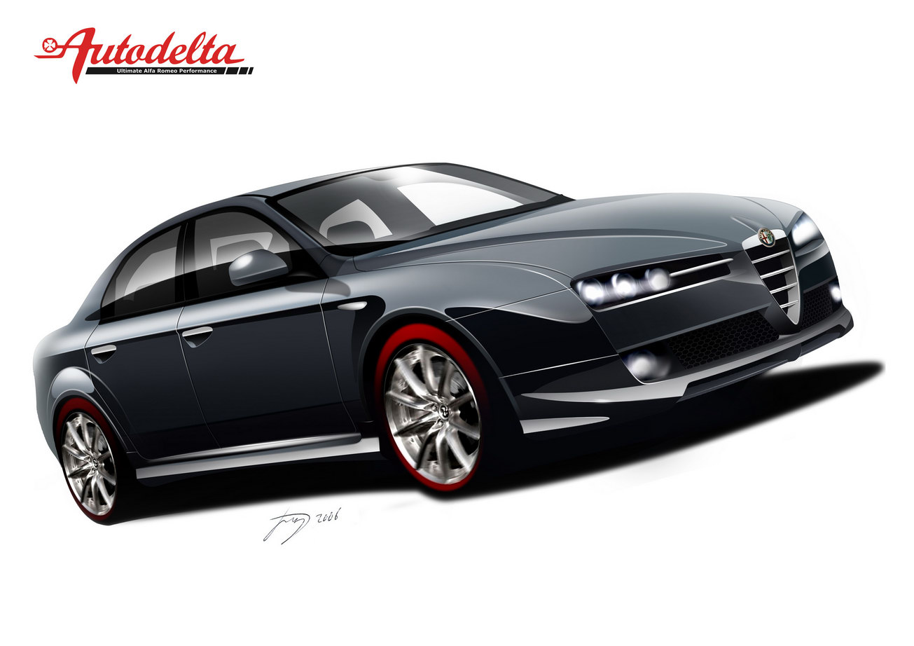 autodelta to unveil new customized alfa romeo 159 top speed. Black Bedroom Furniture Sets. Home Design Ideas
