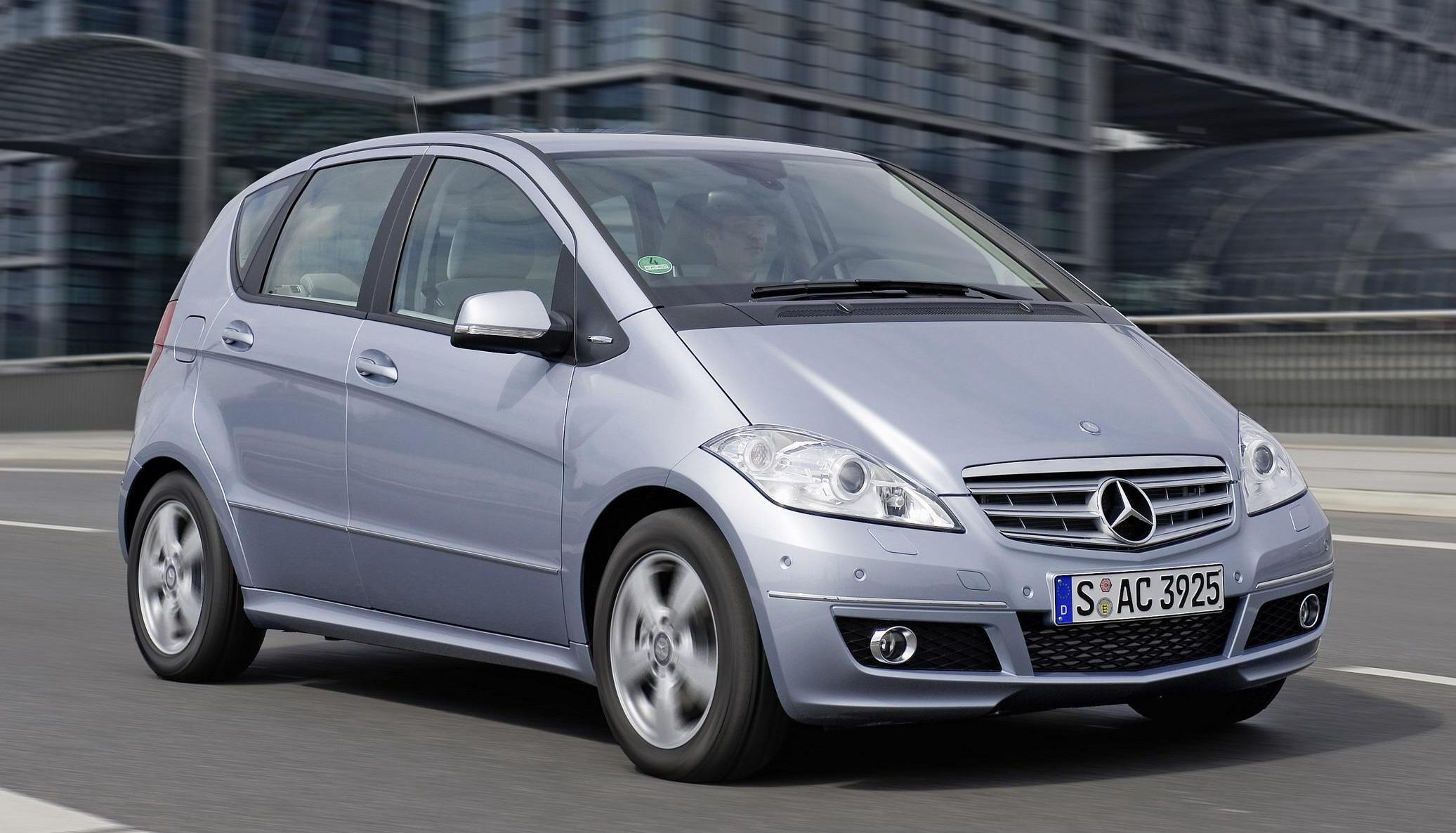 Mercedes A Class And B Class Will Go Rwd Top Speed