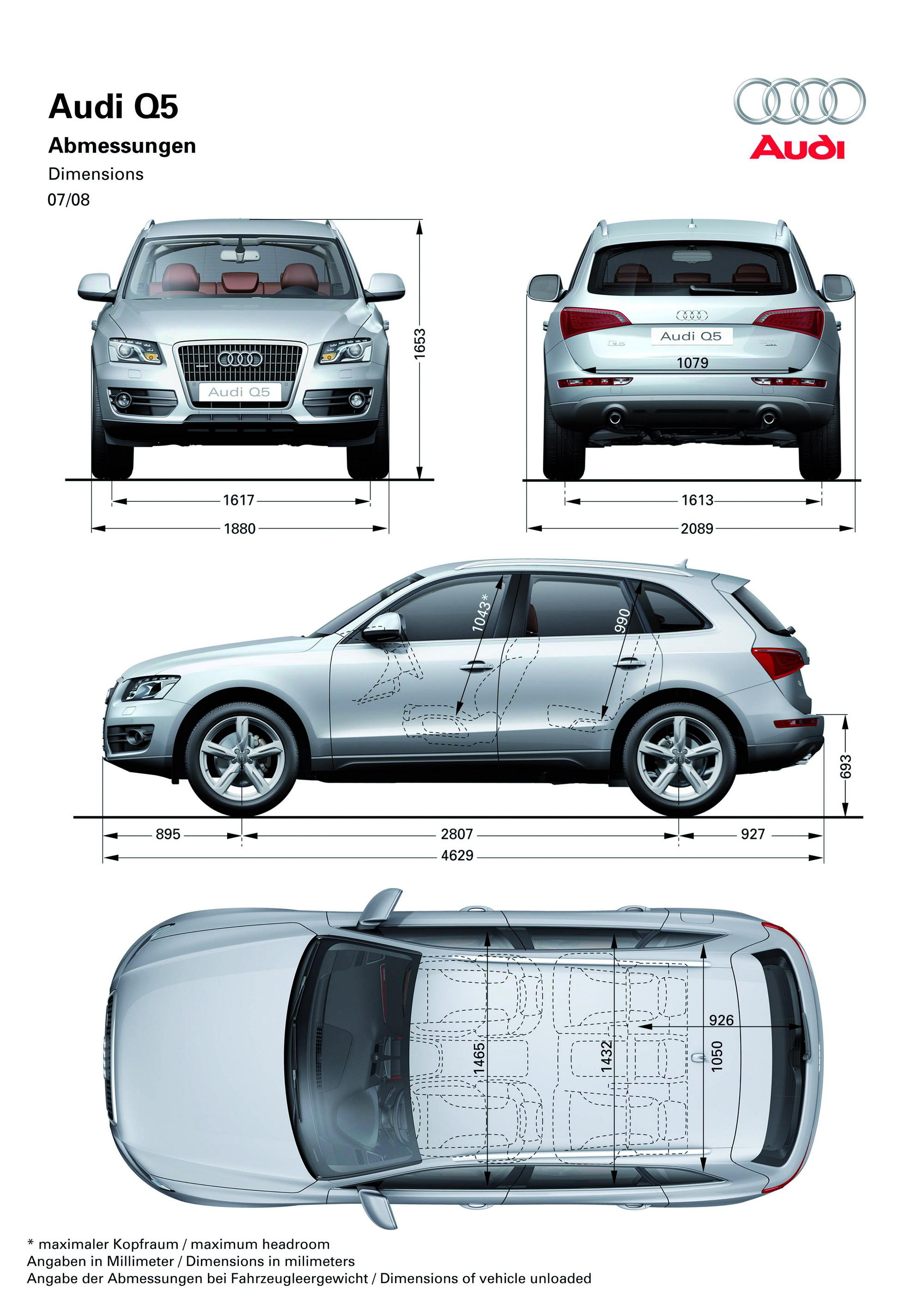 Audi Q5 Length >> 2009 Audi Q5 Top Speed