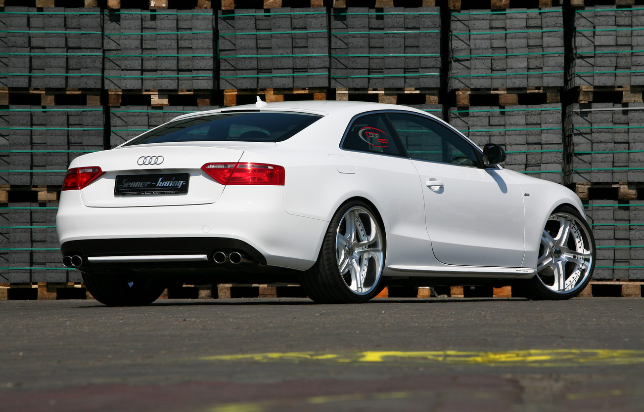 Audi A5 White Speed By Senner Tuning Top Speed