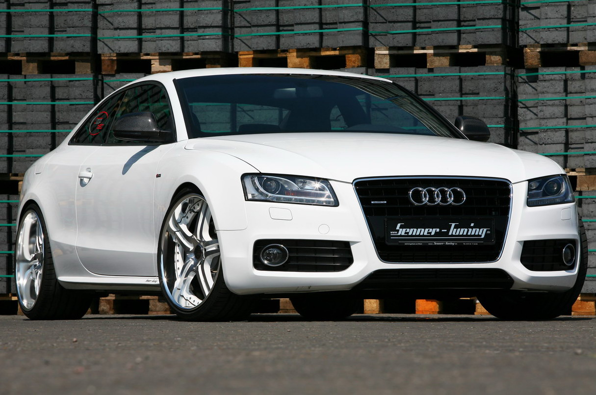 Audi A White Speed By Senner Tuning Top Speed - White audi a5