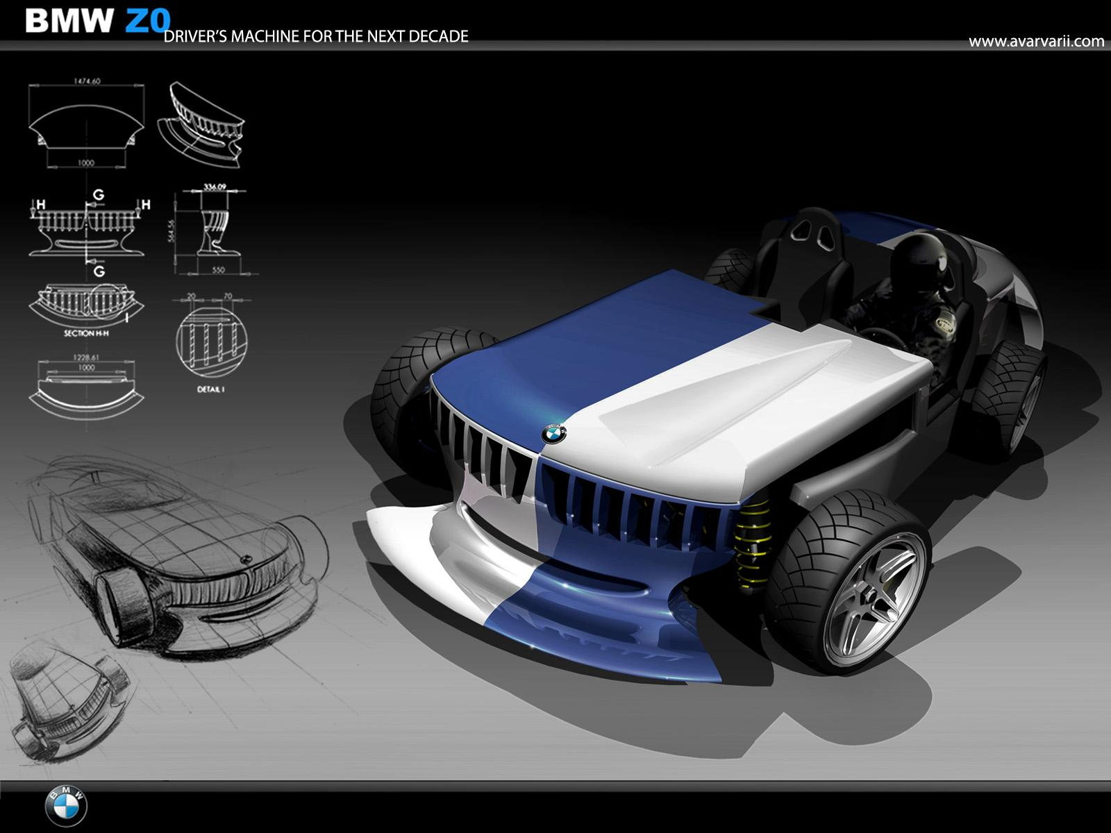 Bmw Z0 Concept By Andrei Avarvarii Gallery 254735 Top Speed
