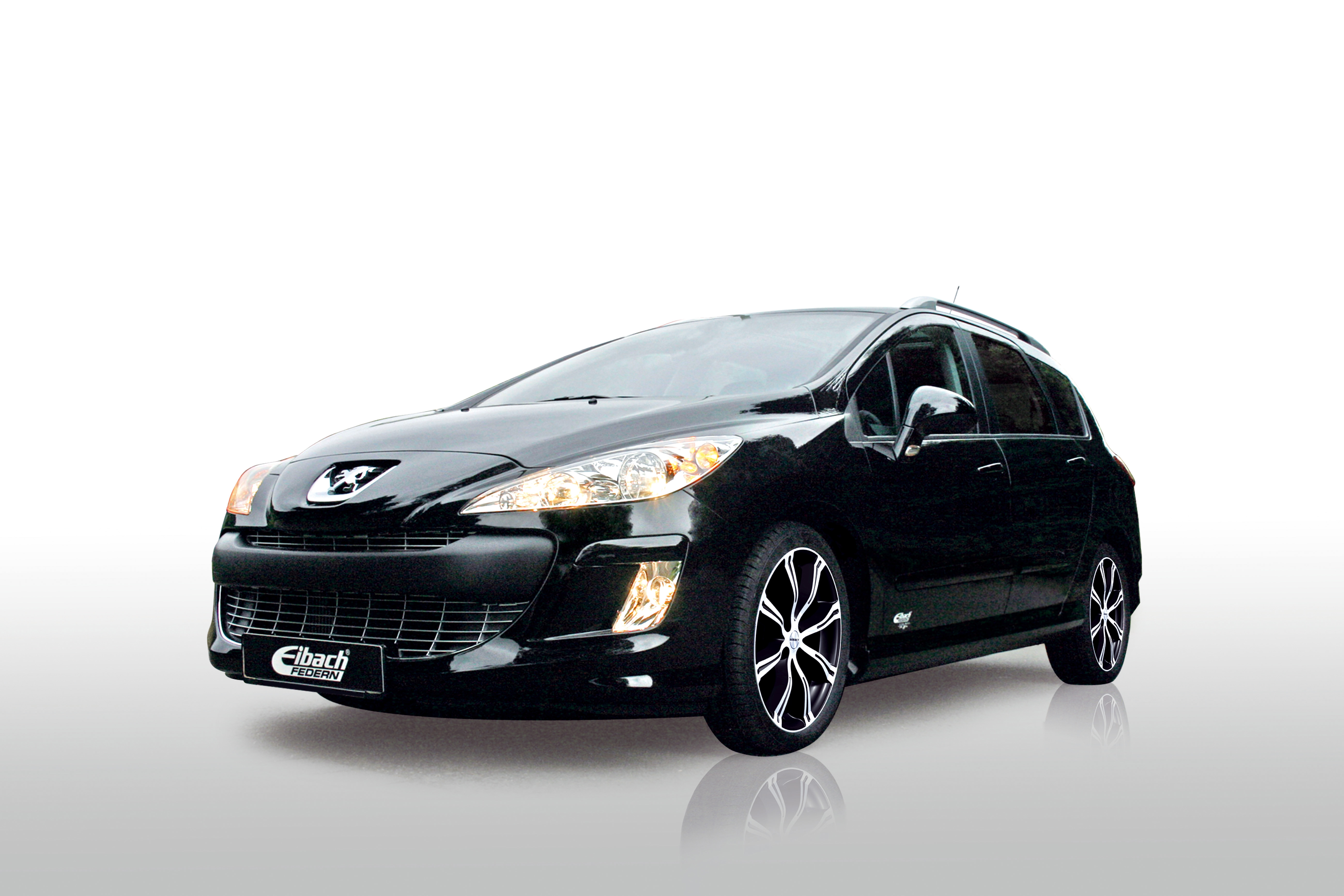 peugeot 308 sw by eibach news gallery top speed. Black Bedroom Furniture Sets. Home Design Ideas