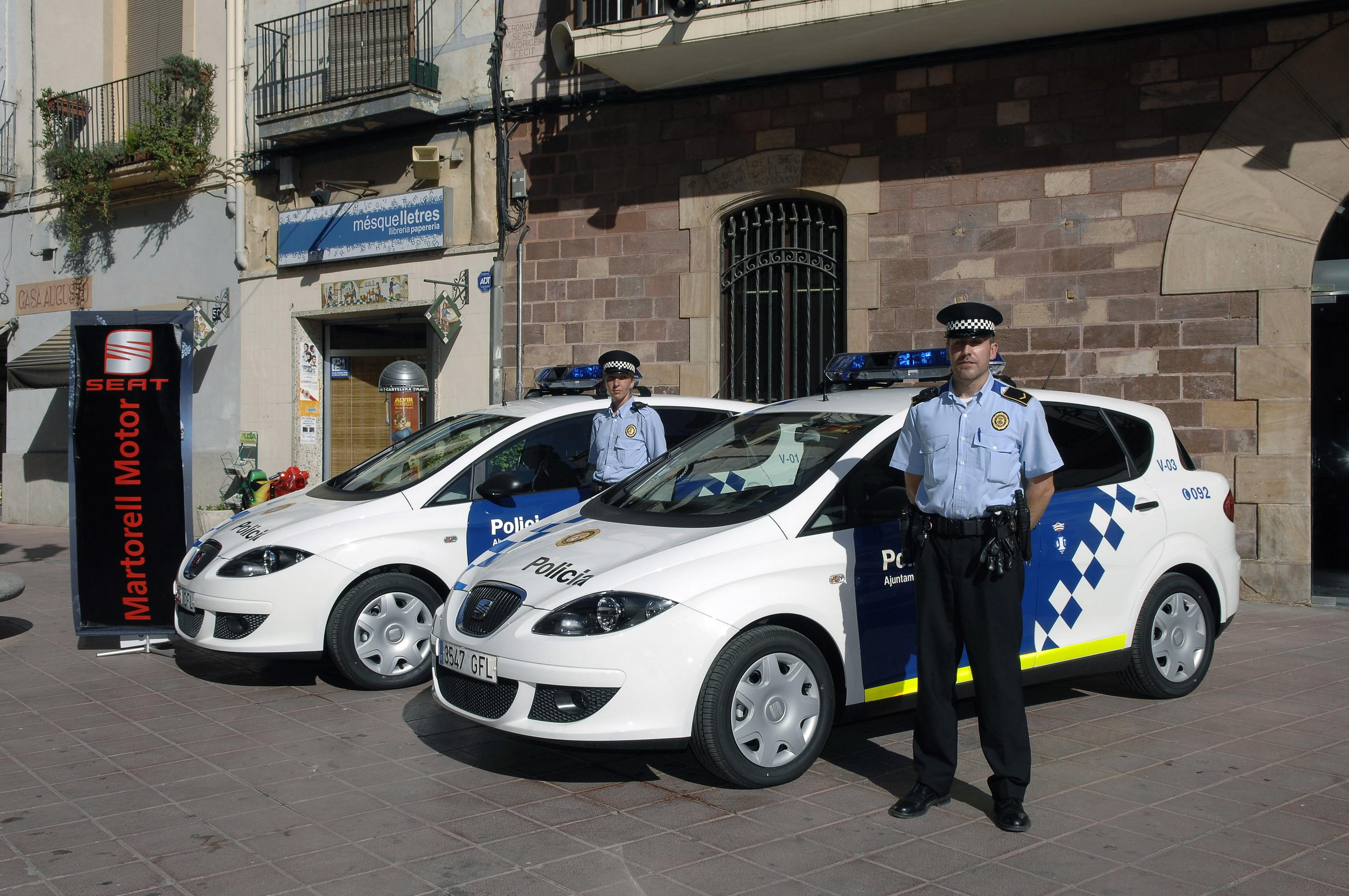 Local Used Cars >> 2008 Seat Toledo Police Car | Top Speed