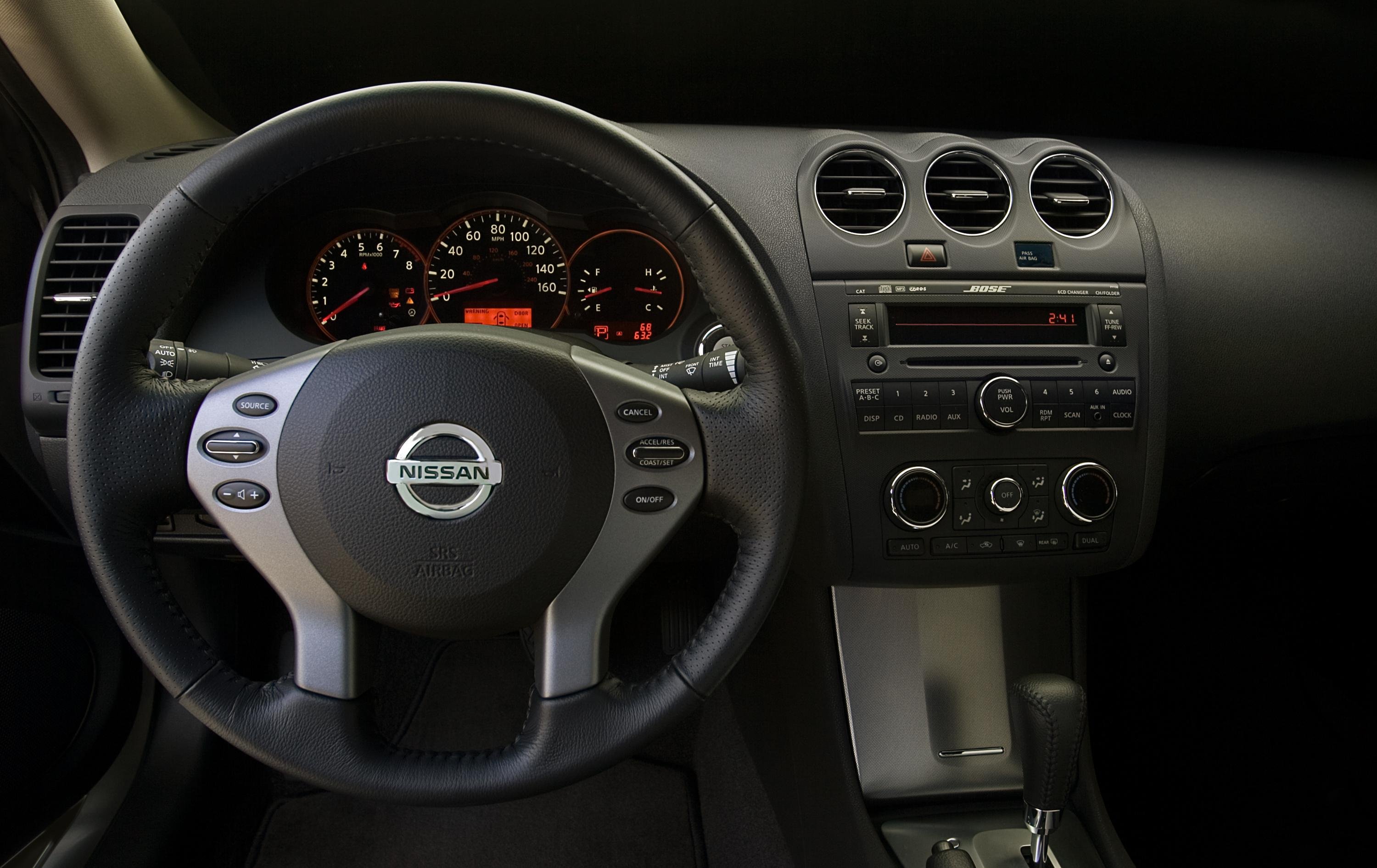 2009 Nissan Altima Coupe | Top Speed. »