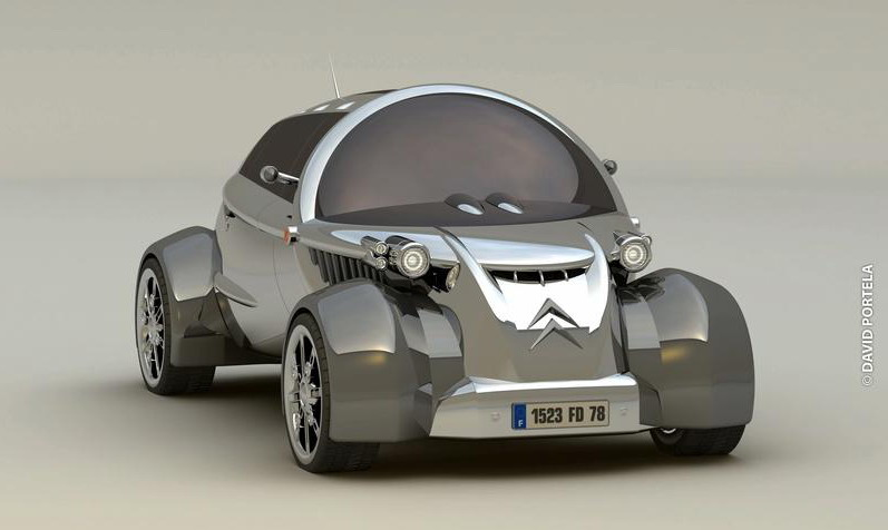 citroen 2cv to make a come back at the paris auto show news top speed. Black Bedroom Furniture Sets. Home Design Ideas