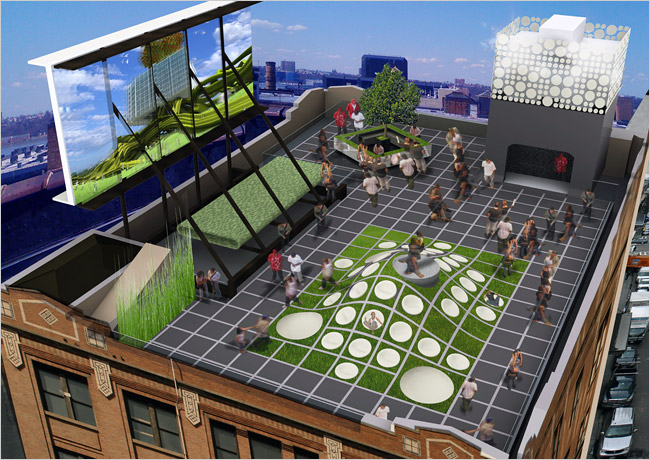 Mini Creates Rooftop Event Space In Manhattan Top Speed