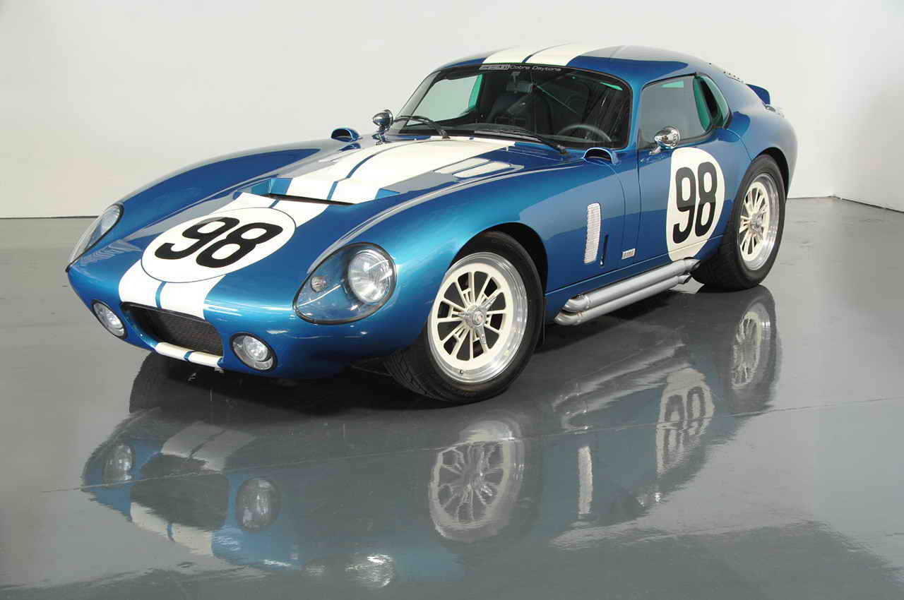 Shelby Distribution Offers An Aluminum Body To The Daytona Coupe ...