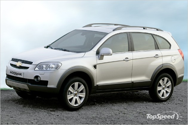 chevrolet captiva and opel antara by lexmaul tuning. Black Bedroom Furniture Sets. Home Design Ideas
