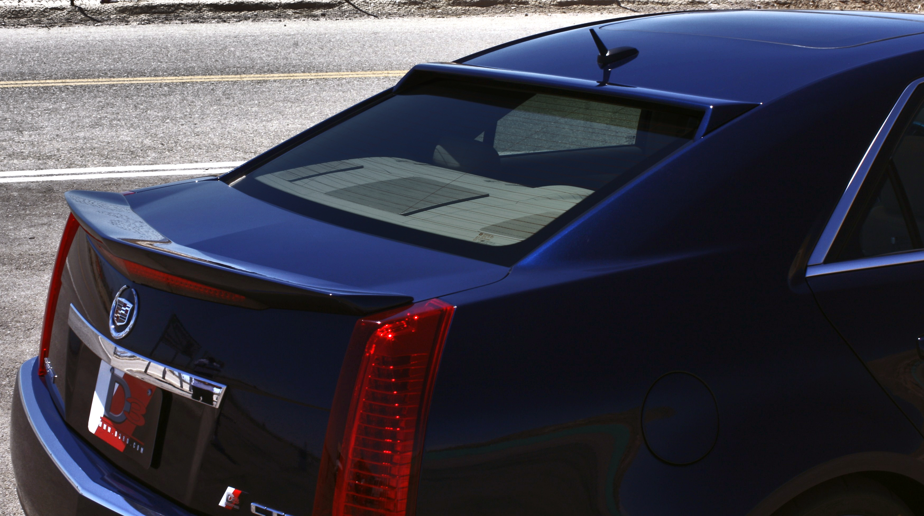 D3 Introduces Cadillac CTS Rear Spoilers Picture. | Top Speed