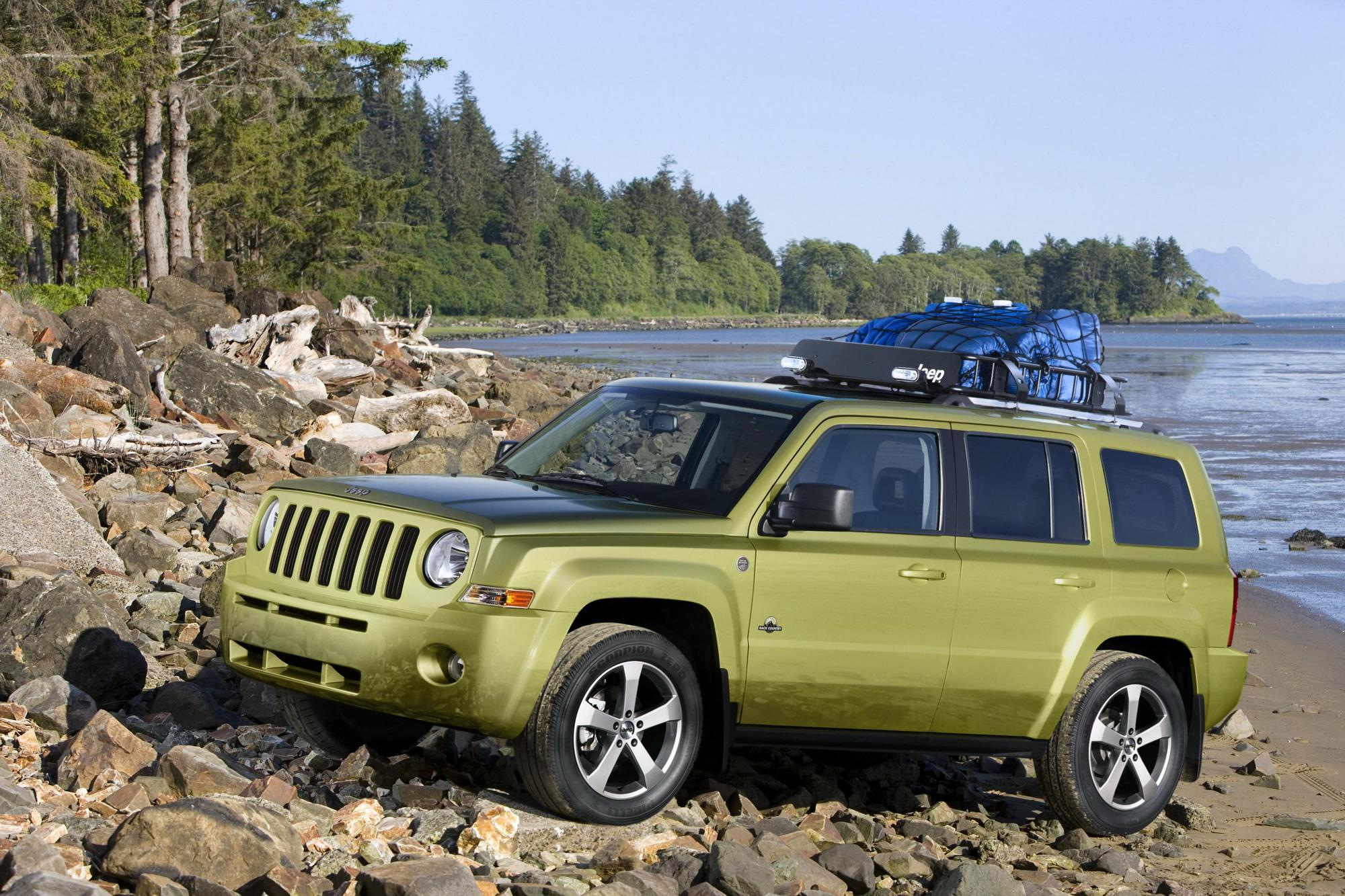 2008 jeep patriot back country concept review top speed. Black Bedroom Furniture Sets. Home Design Ideas