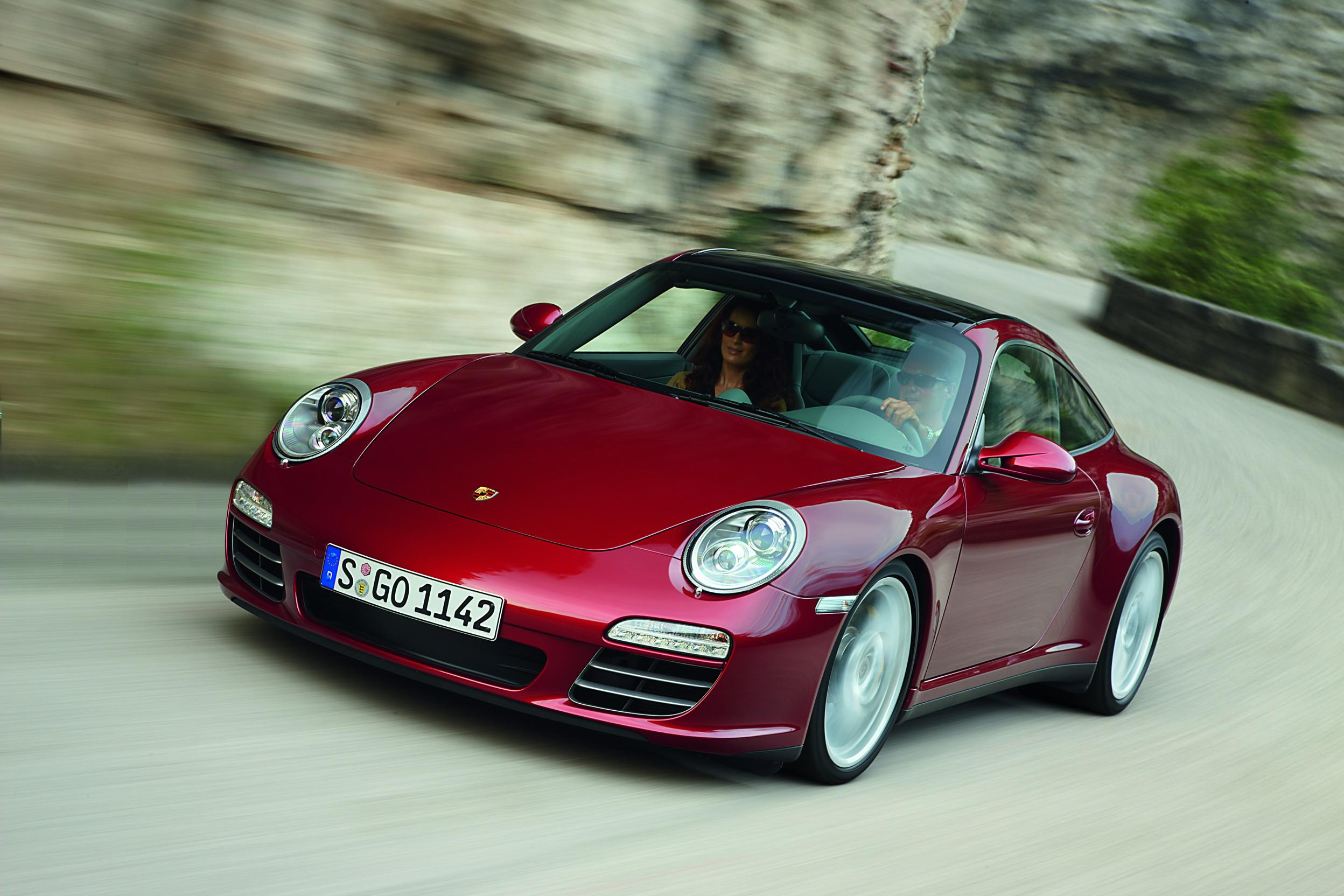 2009 2010 Porsche 911 Targa 4 And 4s Top Speed
