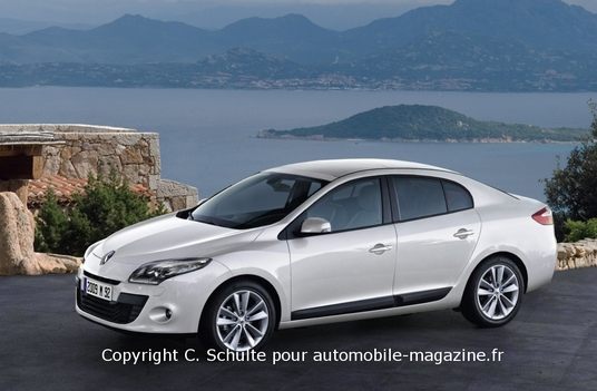 Who Makes Cadillac >> Renault Megane III Sedan Renderings | Top Speed