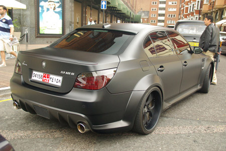 Matte Black Bmw Lumma Clr 500 Rs Top Speed