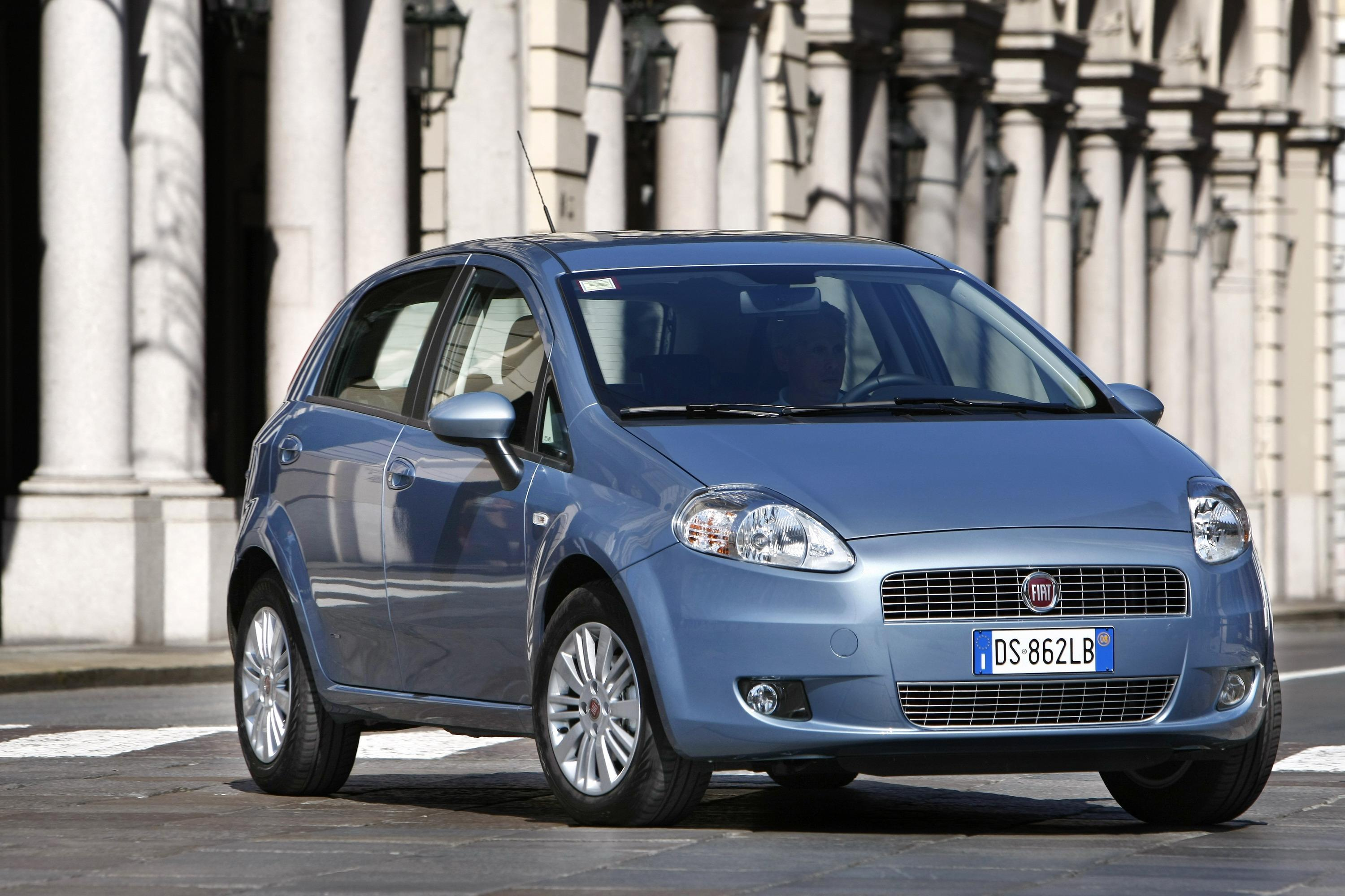 2008 fiat grande punto natural power pictures photos wallpapers top speed. Black Bedroom Furniture Sets. Home Design Ideas