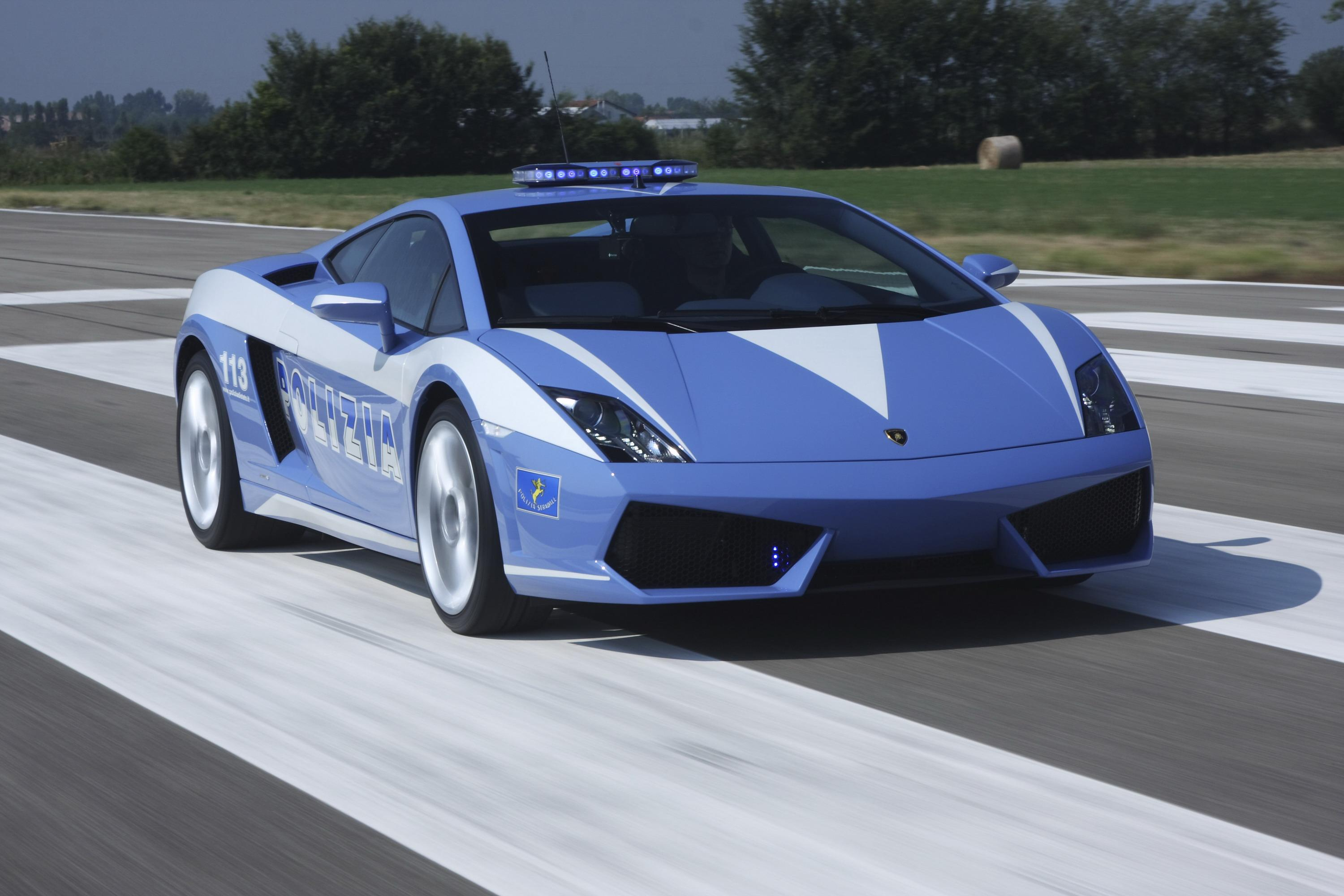 2009 Lamborghini Gallardo Lp560 4 Polizia Top Speed