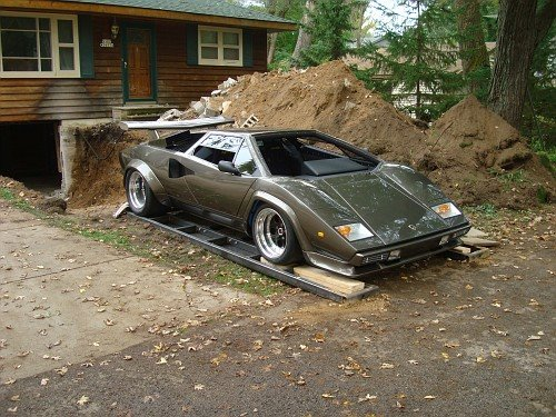 Man Builds Lamborghini Countach Replica In 17 Years Pictures Photos