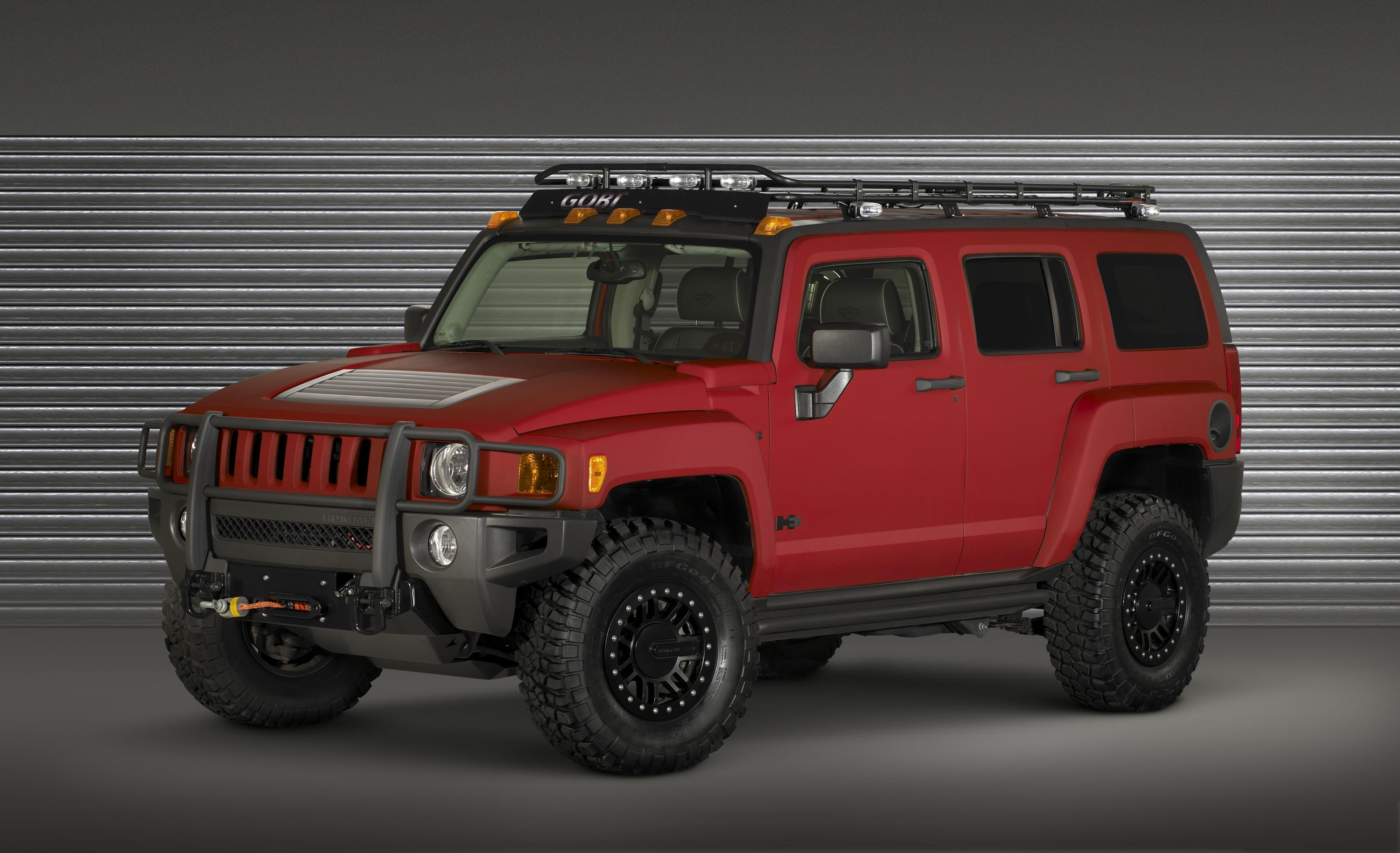 three hummer h3 concepts for sema top speed. Black Bedroom Furniture Sets. Home Design Ideas