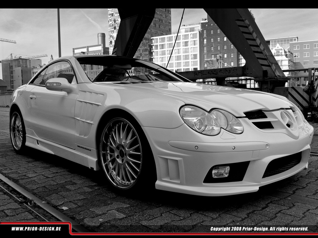 2009 mercedes benz sl r320 by prior design news gallery for R320 mercedes benz
