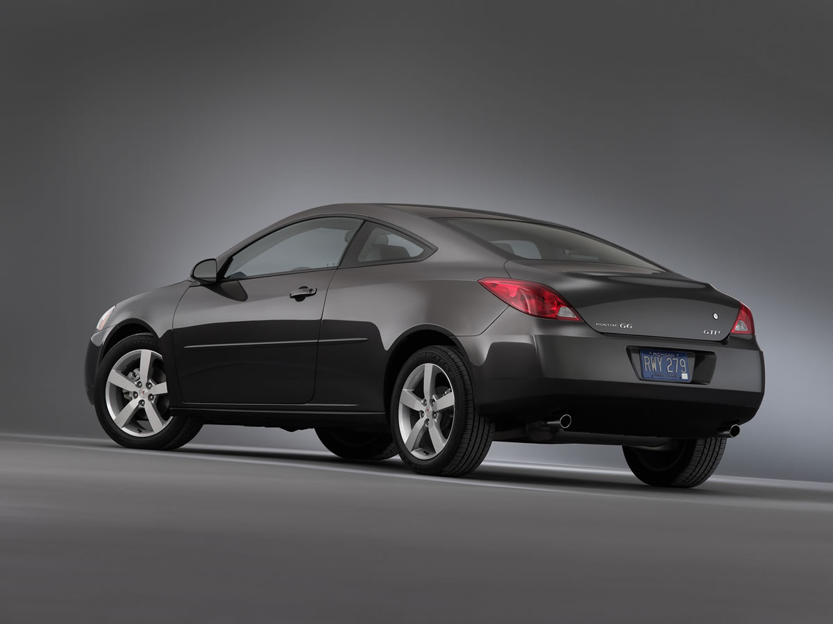 2009 Pontiac G6 Coupe Will Get New 4 Cylinder Top Speed