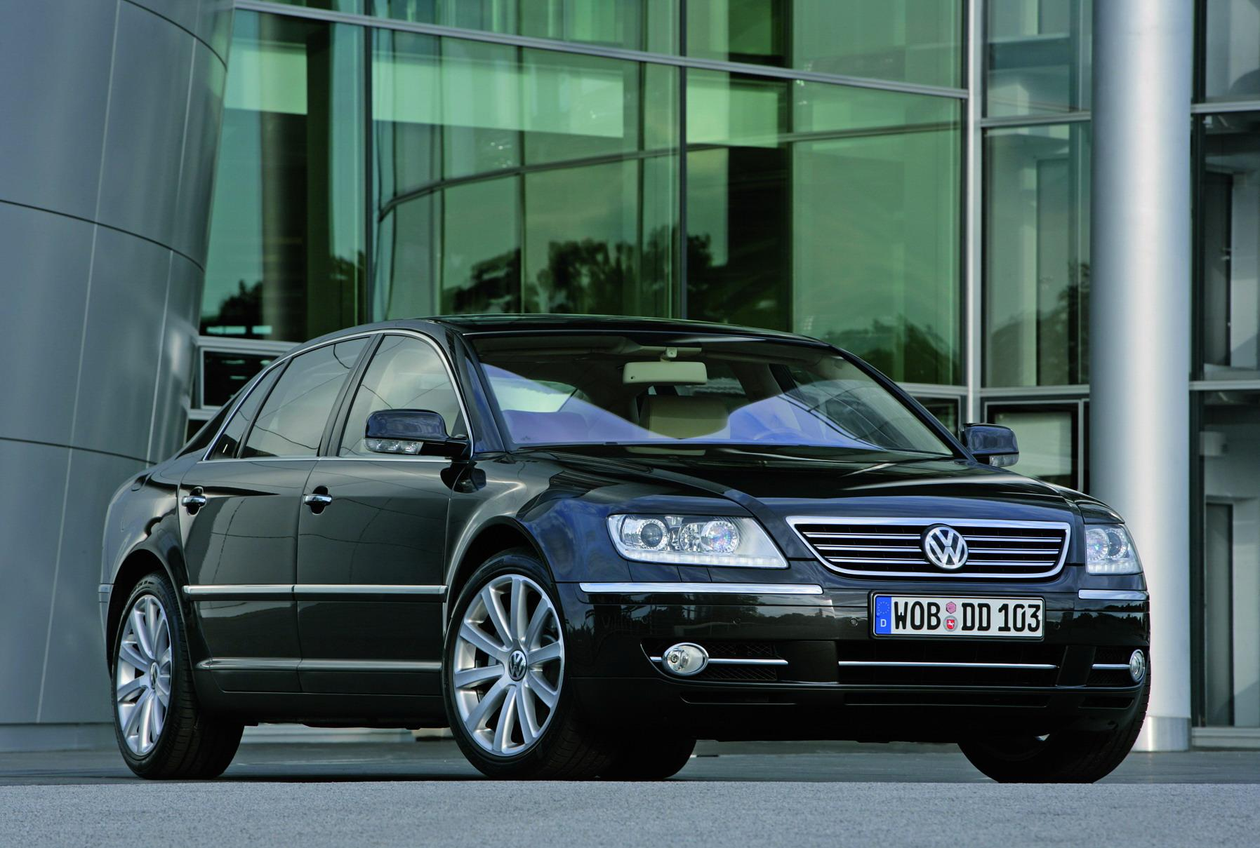 2009 Volkswagen Phaeton Top Speed