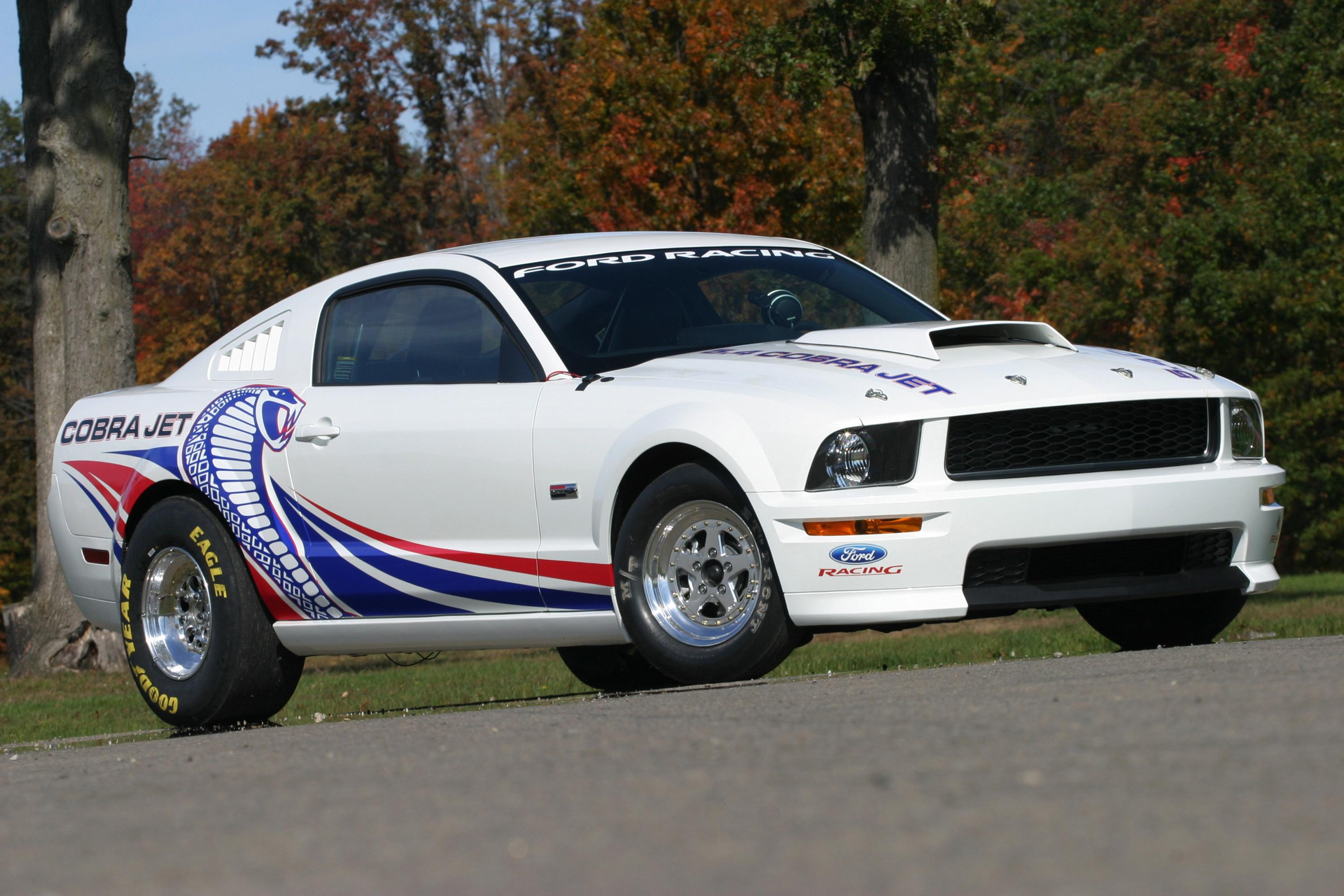 2008 Ford Cobra Jet Mustang Top Speed