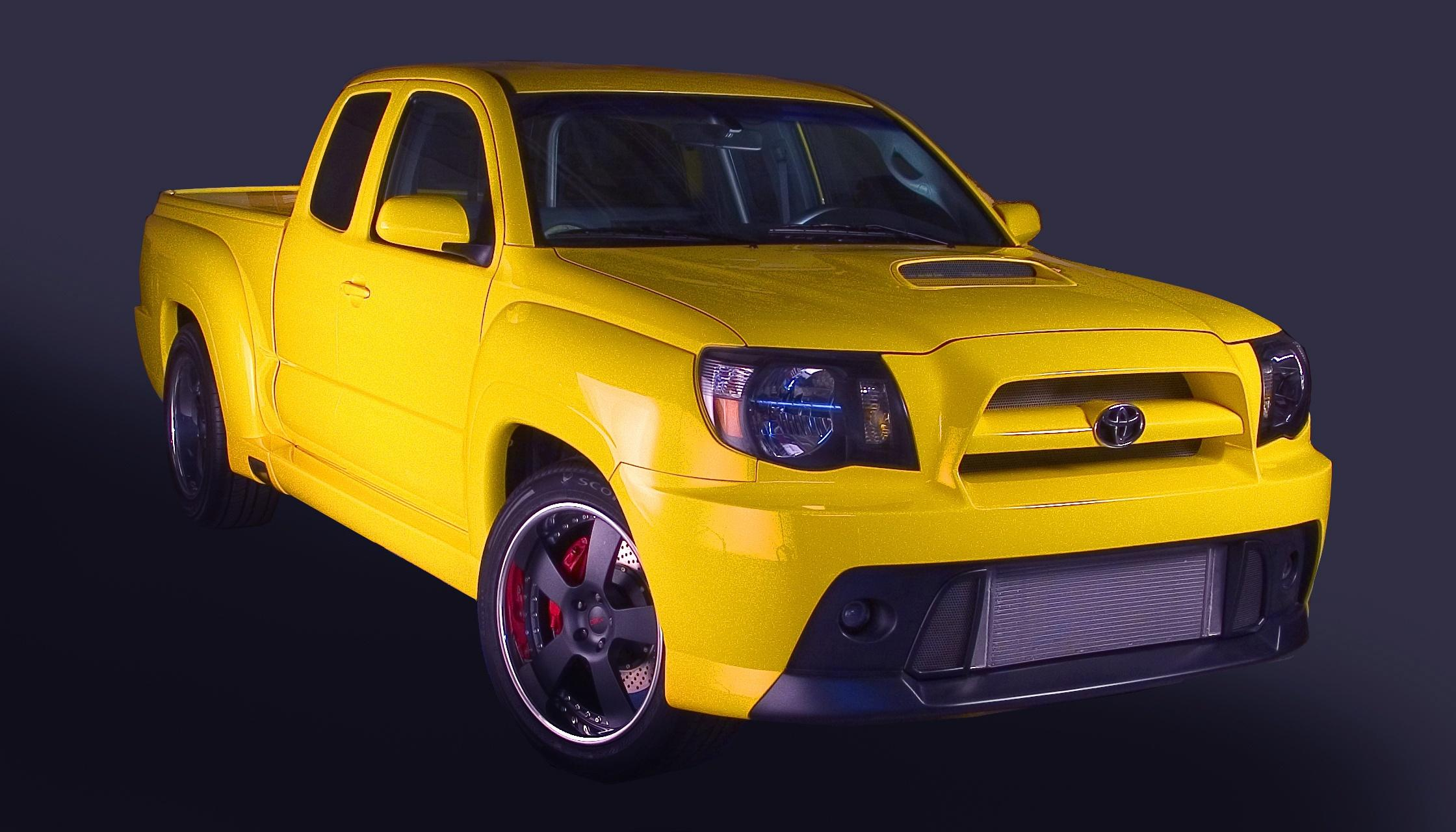 2008 Toyota Trd Tacoma X Runner Concept Top Speed