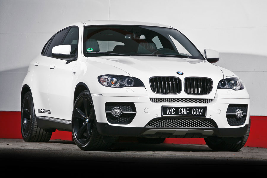 Bmw X6 White Shark By Mc Chip Top Speed