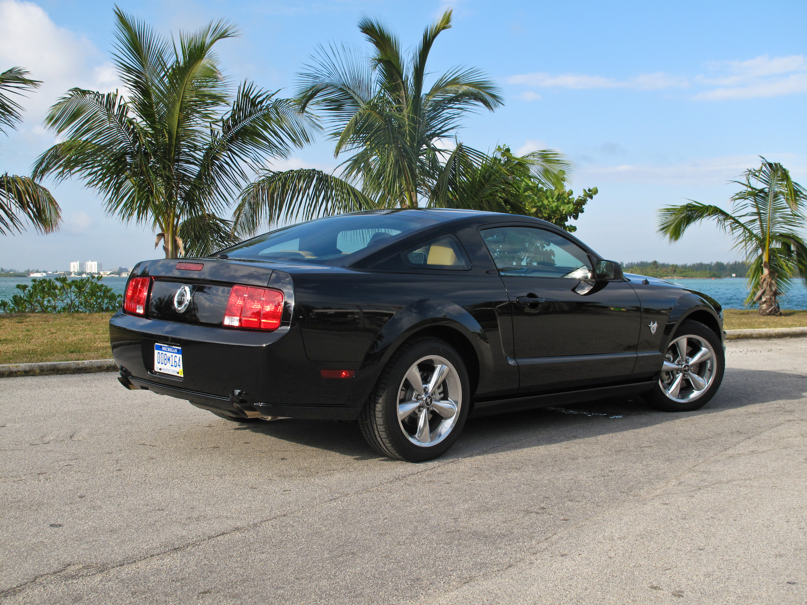 2009 ford mustang gt top speed